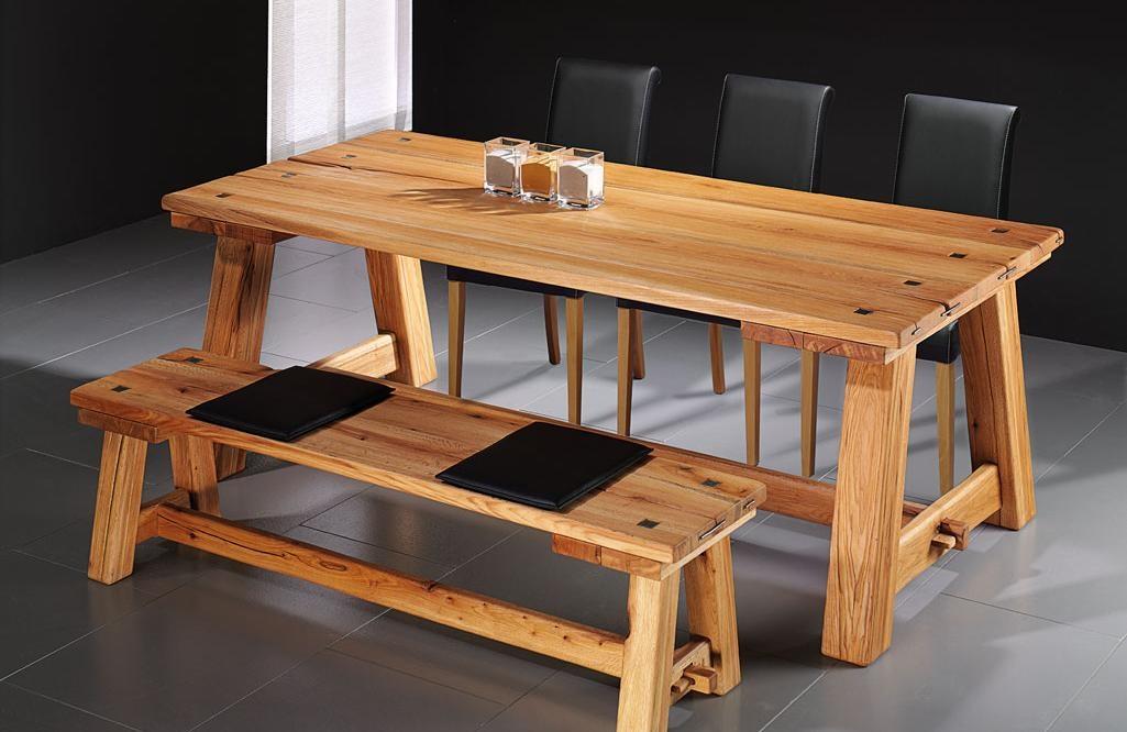 tisch und bank ch teau solovivo. Black Bedroom Furniture Sets. Home Design Ideas