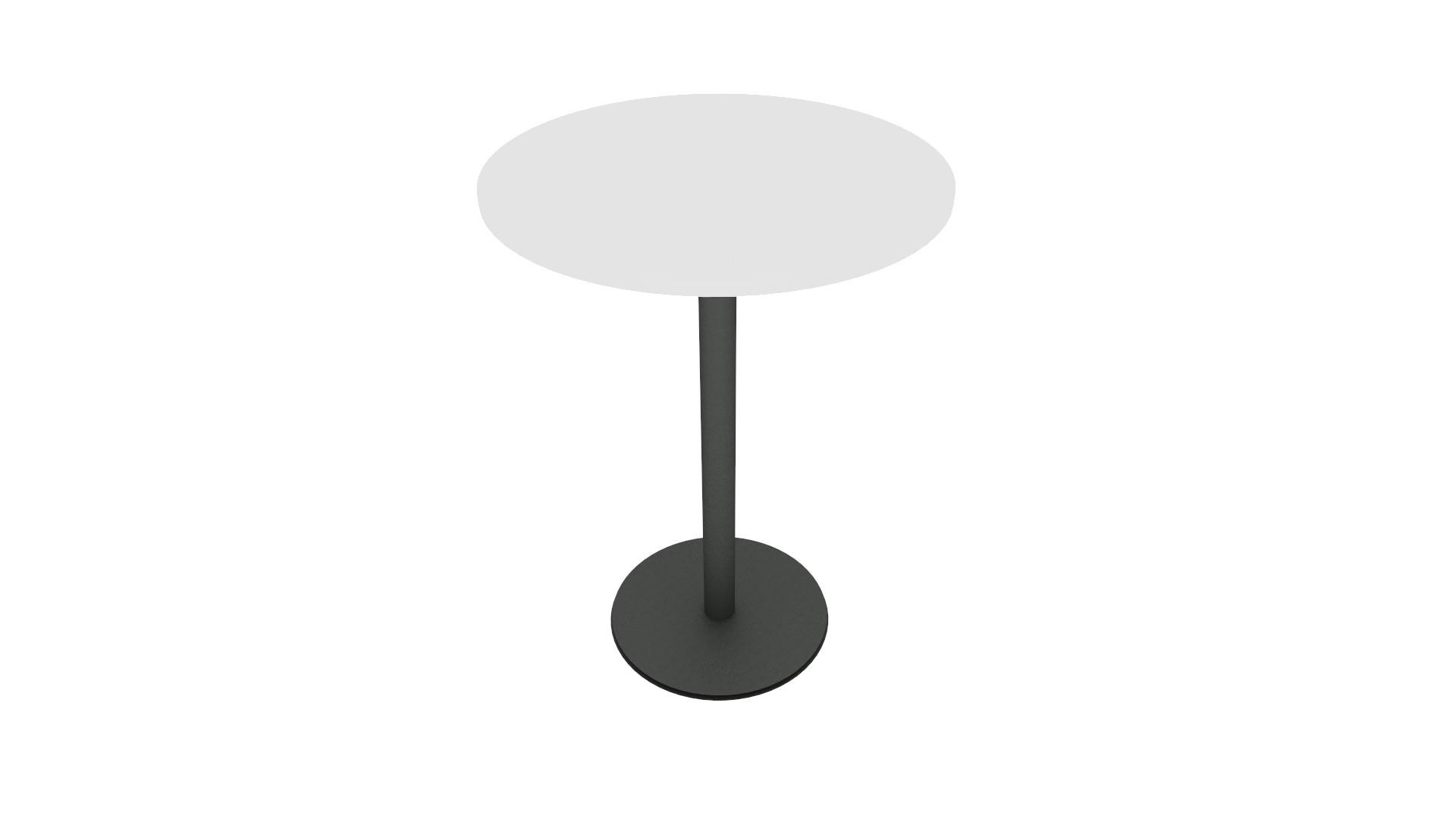 Table haute pour réunion ou cafétéria TOUCH DOWN de Steelcase 02