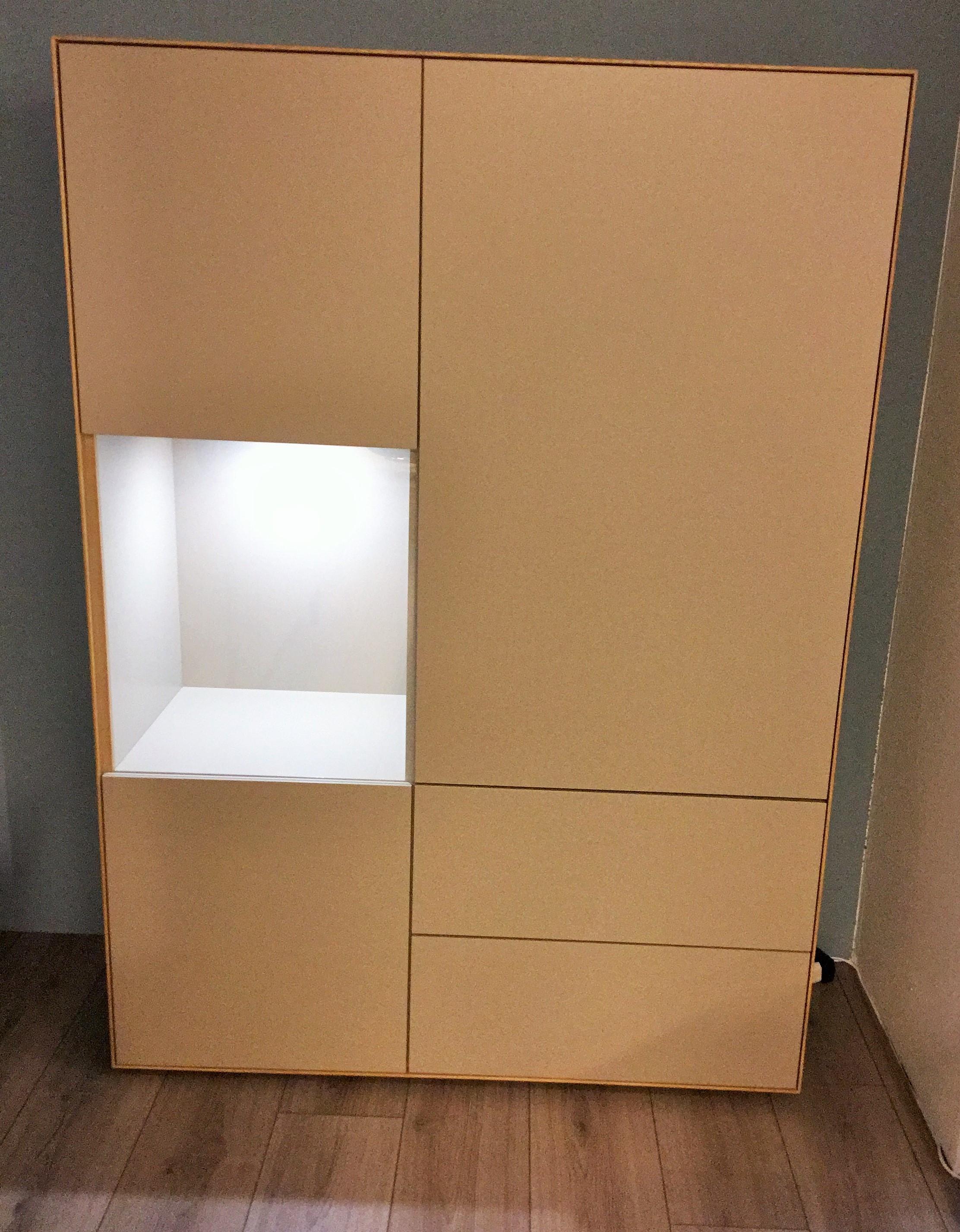 Schöner Wohnen Patchwork Sideboard grau/Palazzo 01
