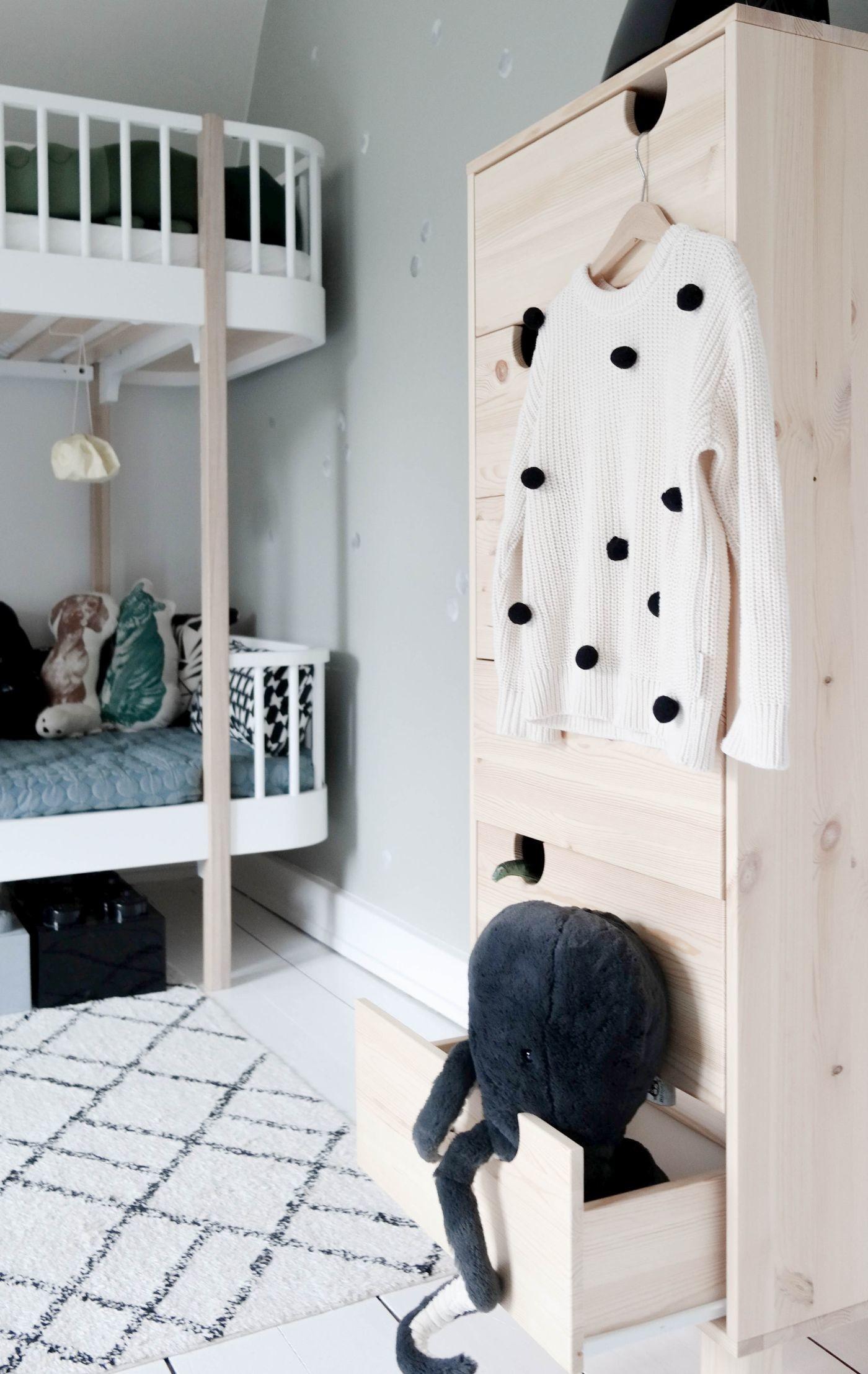 Kommode House, 6 Schubladen Holzfront 05