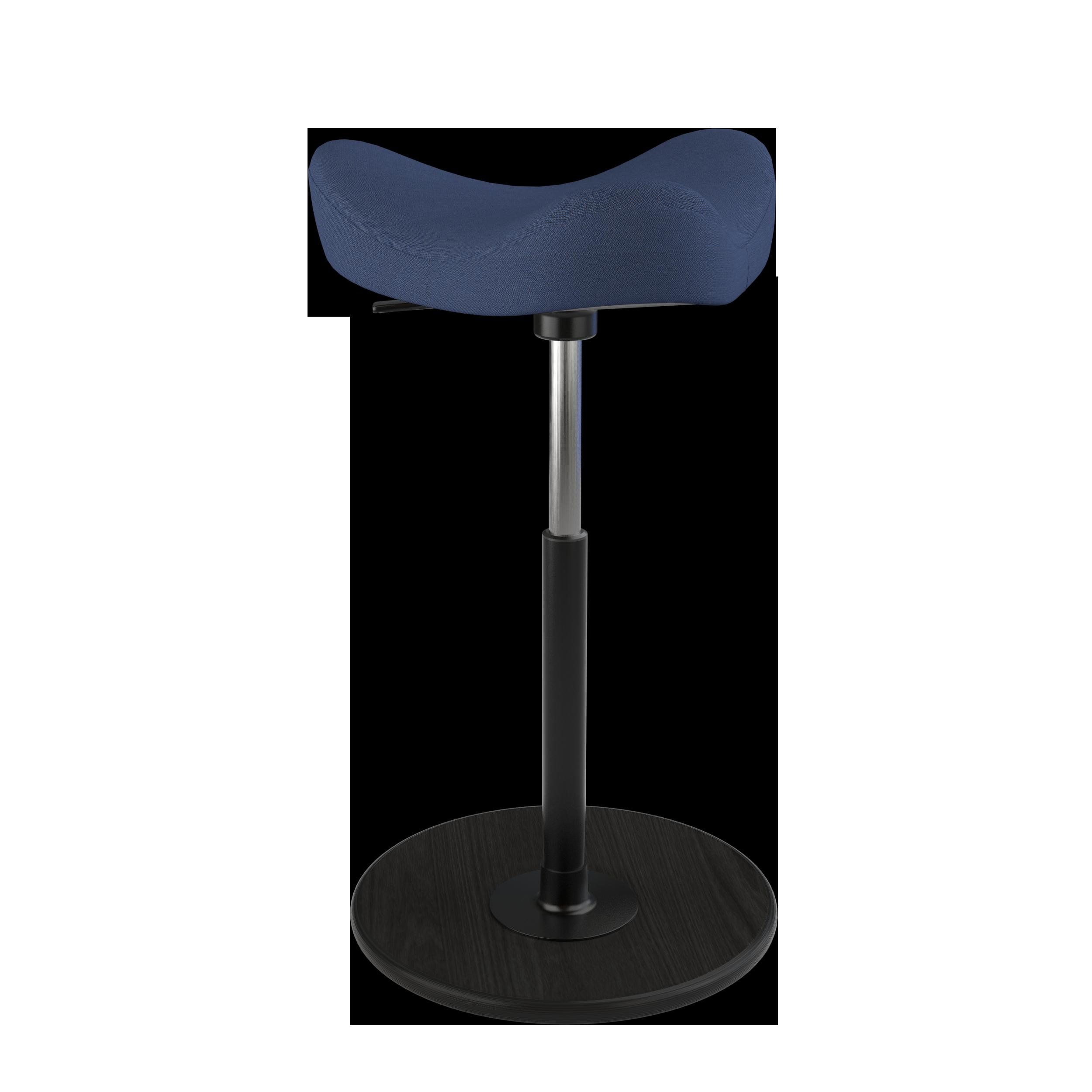 varier Stehhilfe MOVE mittel 56-82 cm, Teller Esche schwarz 03