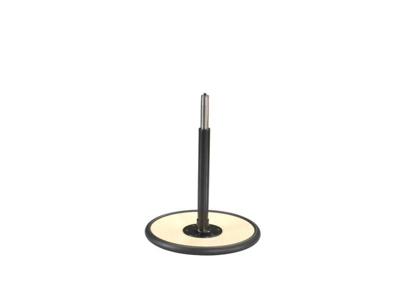 varier Stehhilfe MOVE mittel 56-82 cm, Teller Esche schwarz 10
