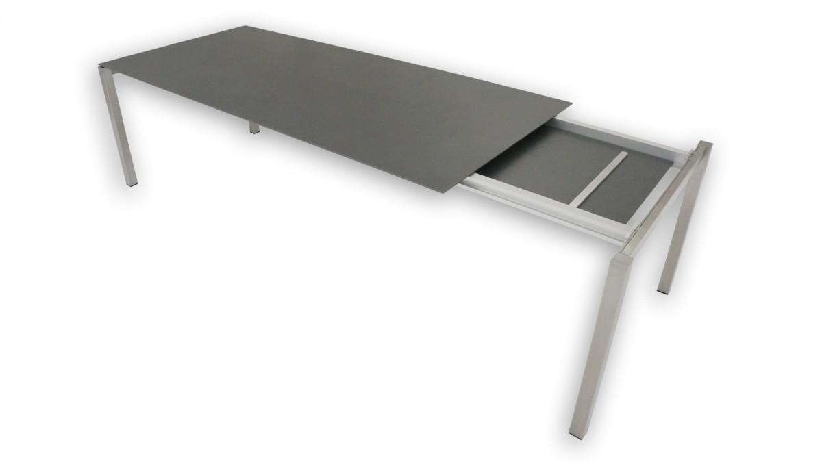 Keramik-Auszug-Tisch Garnitur MAXIM 220/280 (inkl. 8 Stk. Stühlen) 03
