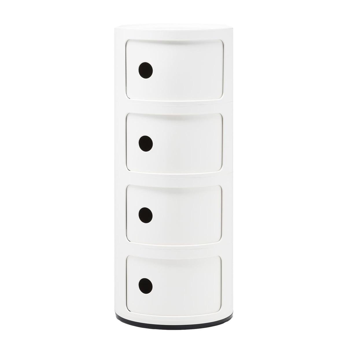 Componibili 4 tiroirs de Kartell 02