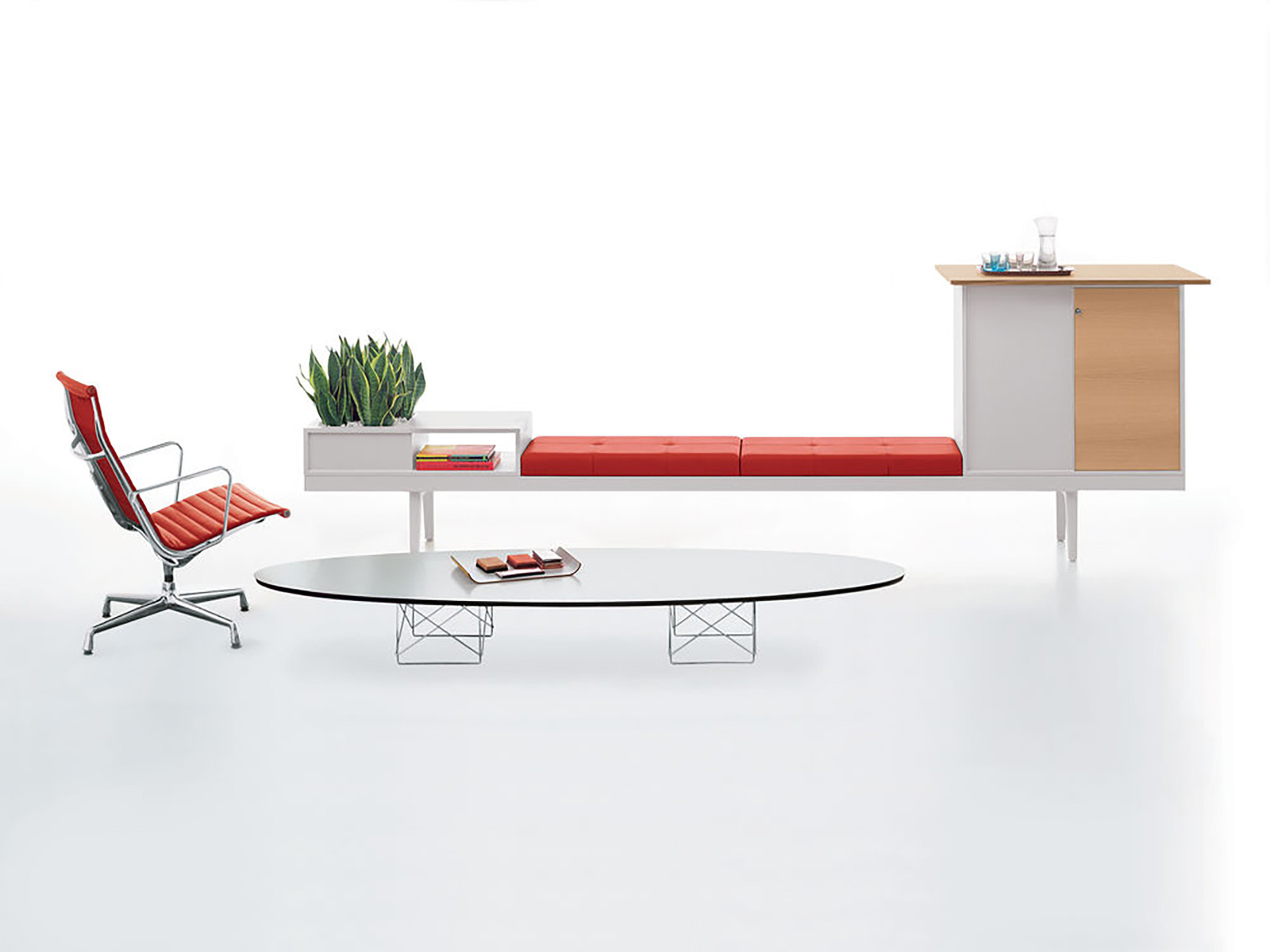 Vitra Eliptical Table ETR 03