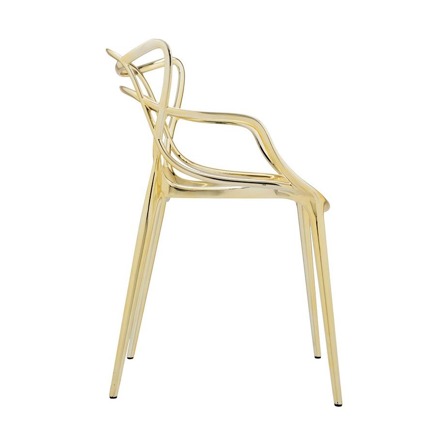 Chaise métallisée Masters de Kartell 02
