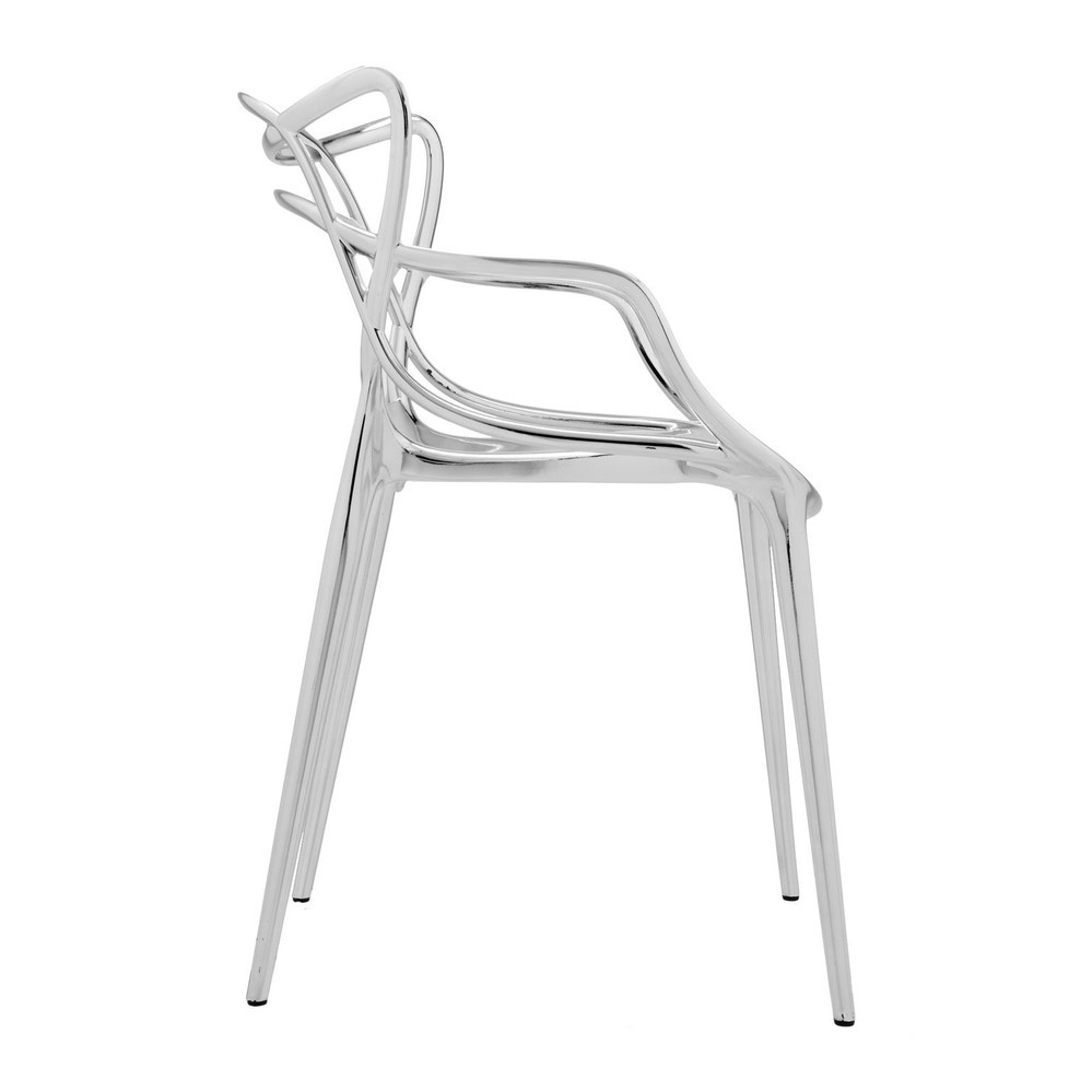 Chaise métallisée Masters de Kartell 12
