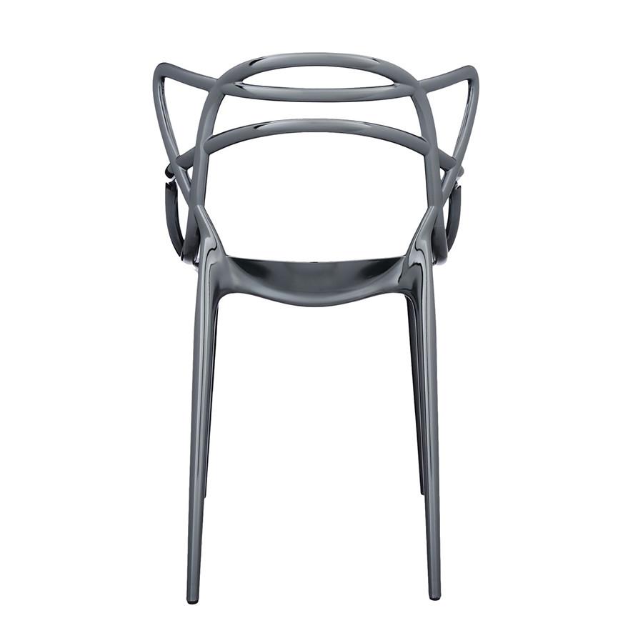 Chaise métallisée Masters de Kartell 16