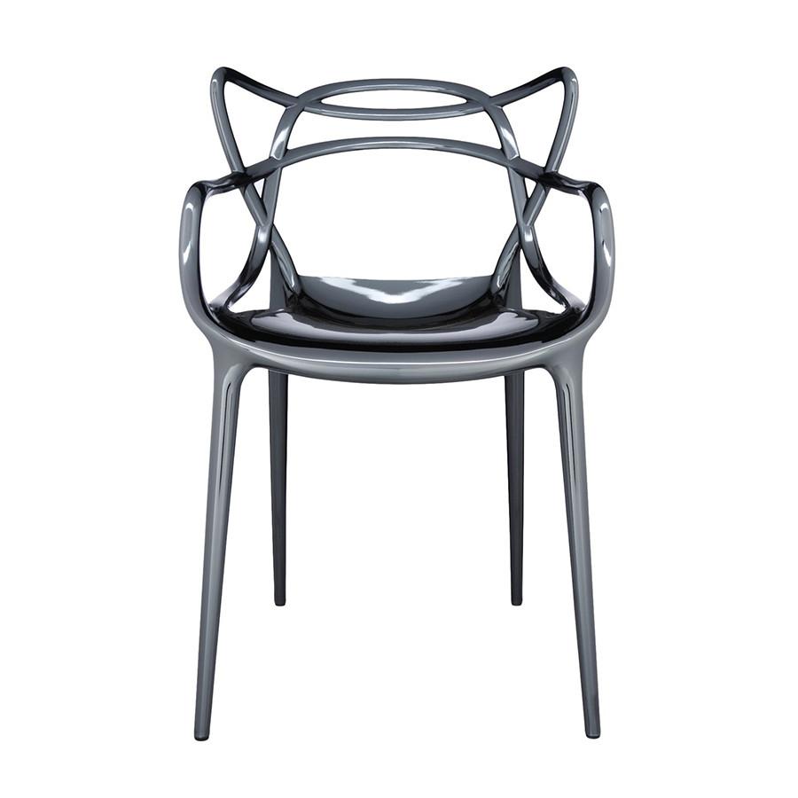 Chaise métallisée Masters de Kartell 14