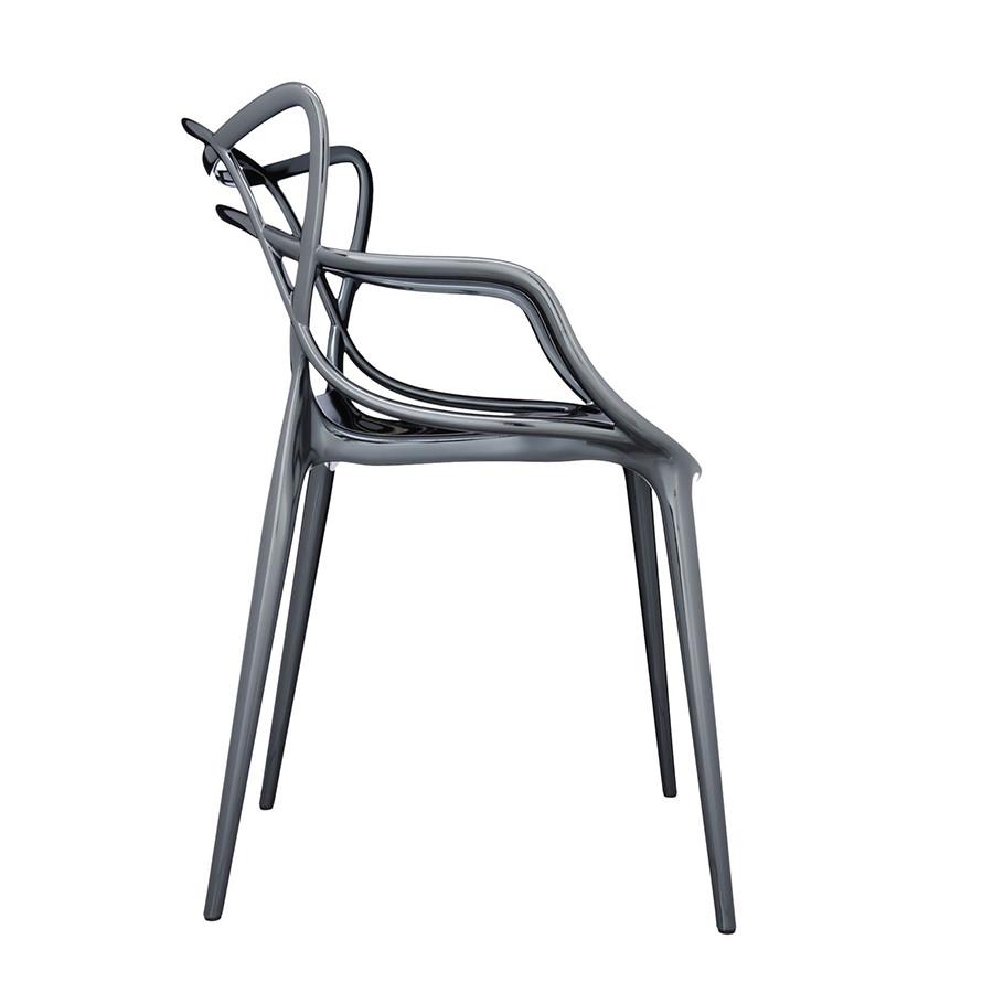 Chaise métallisée Masters de Kartell 15