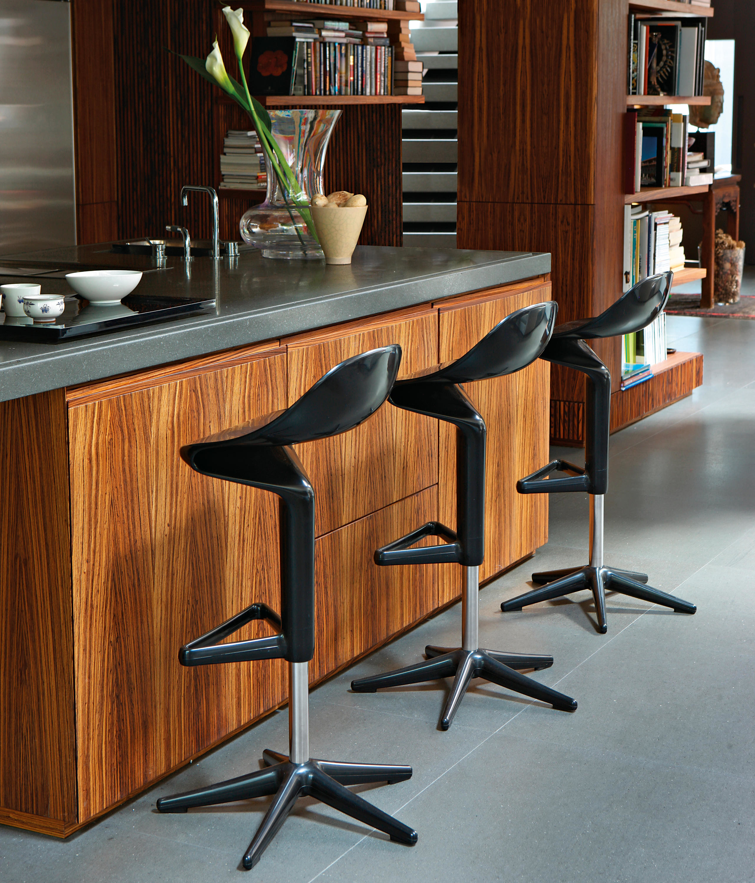 Chaise de bar Spoon de Kartell 19