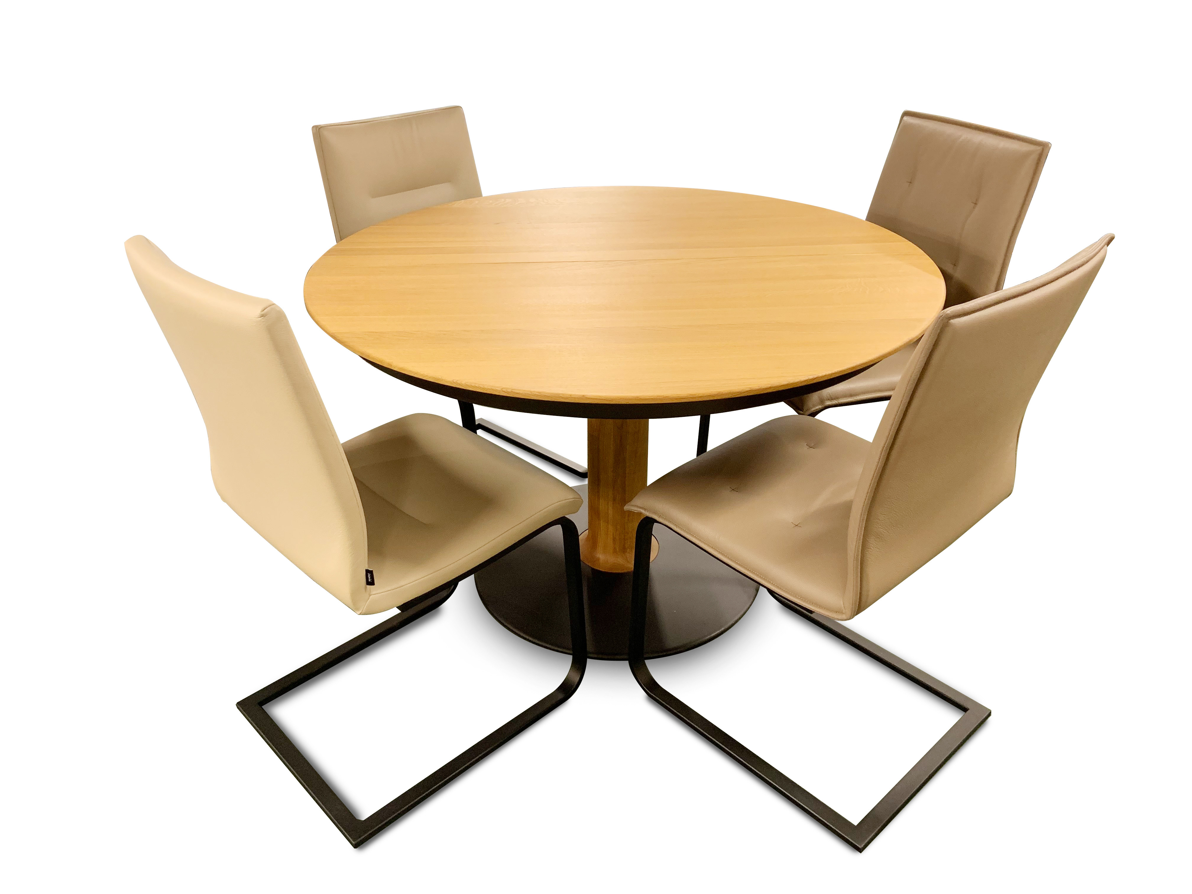 Auszugstisch Rota 120 (120 x 180) cm, 2 & 2 Stühle 07