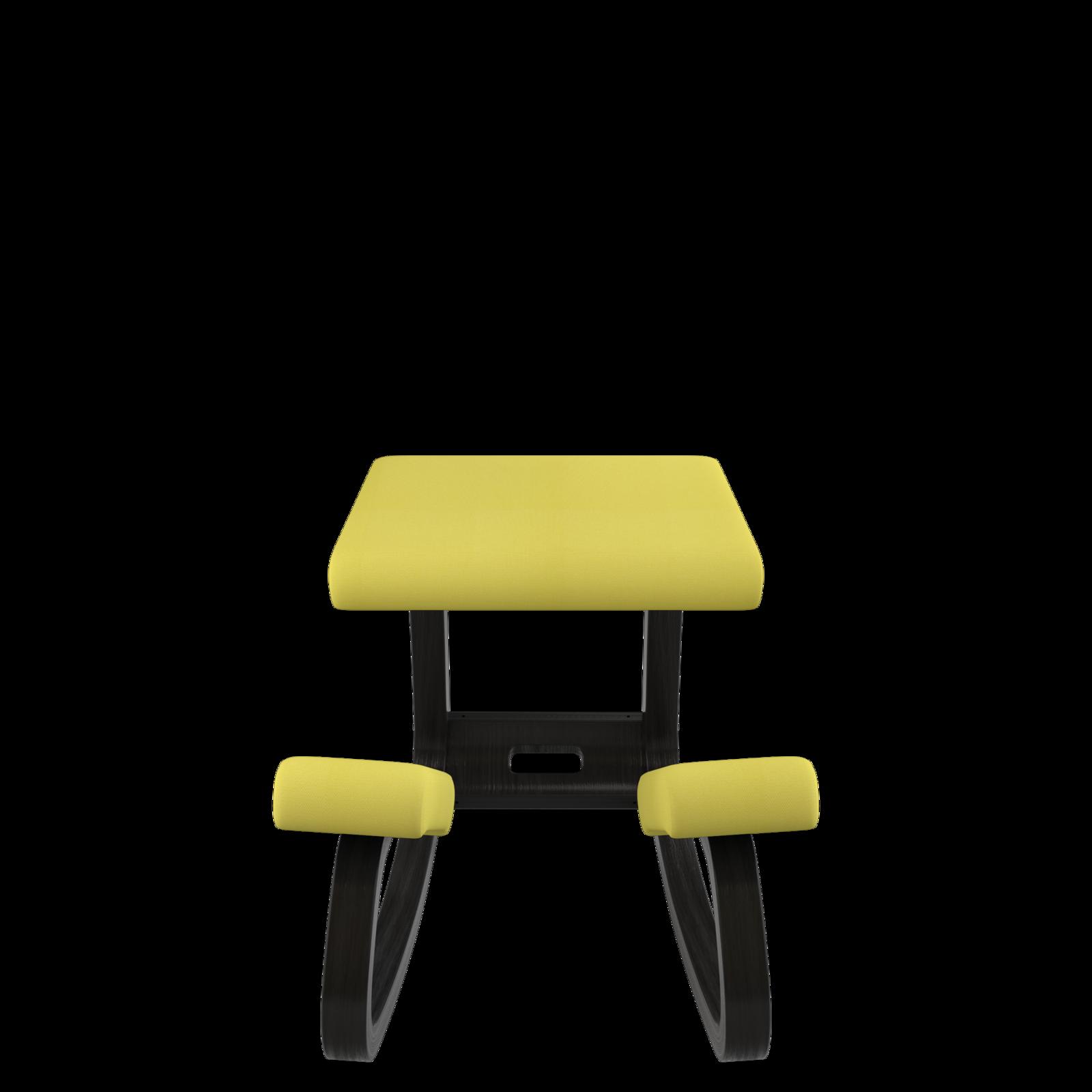 Variable balans Bewegungsstuhl, Esche schwarz 01