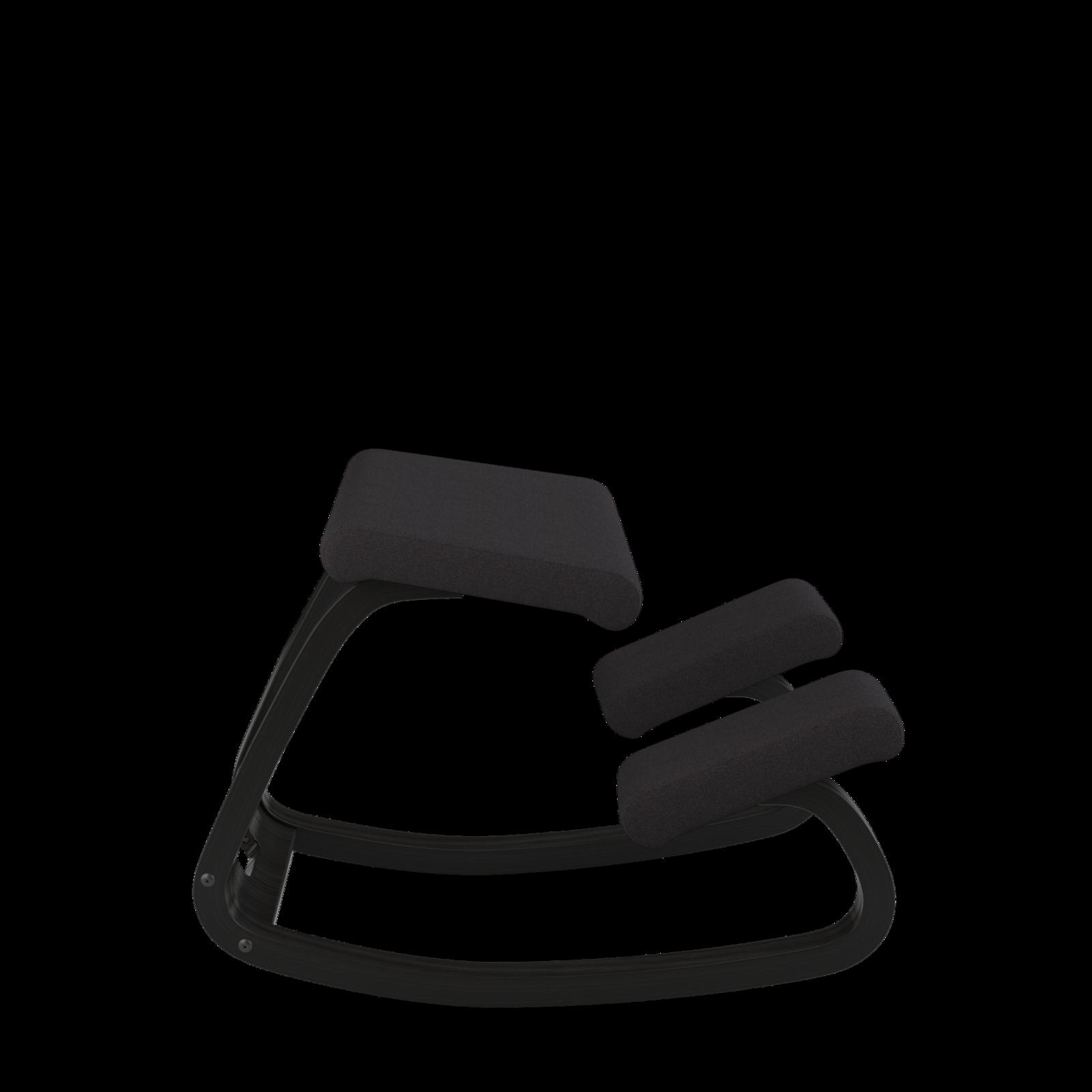 Variable balans Bewegungsstuhl, Esche schwarz 06