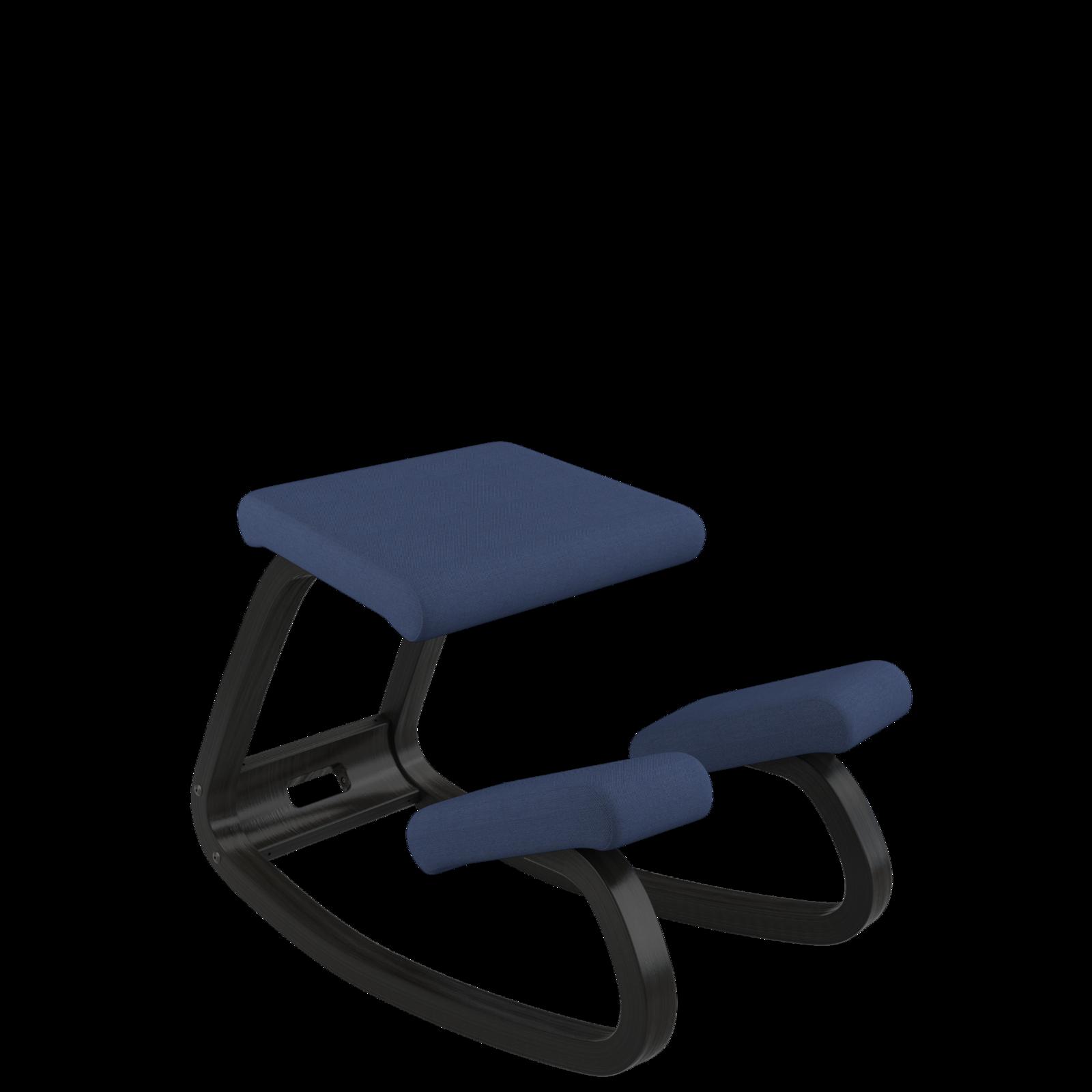 Variable balans Bewegungsstuhl, Esche schwarz 05