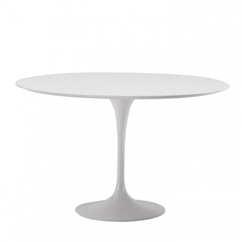 Saarinen Tisch Ø120cm weiss 01