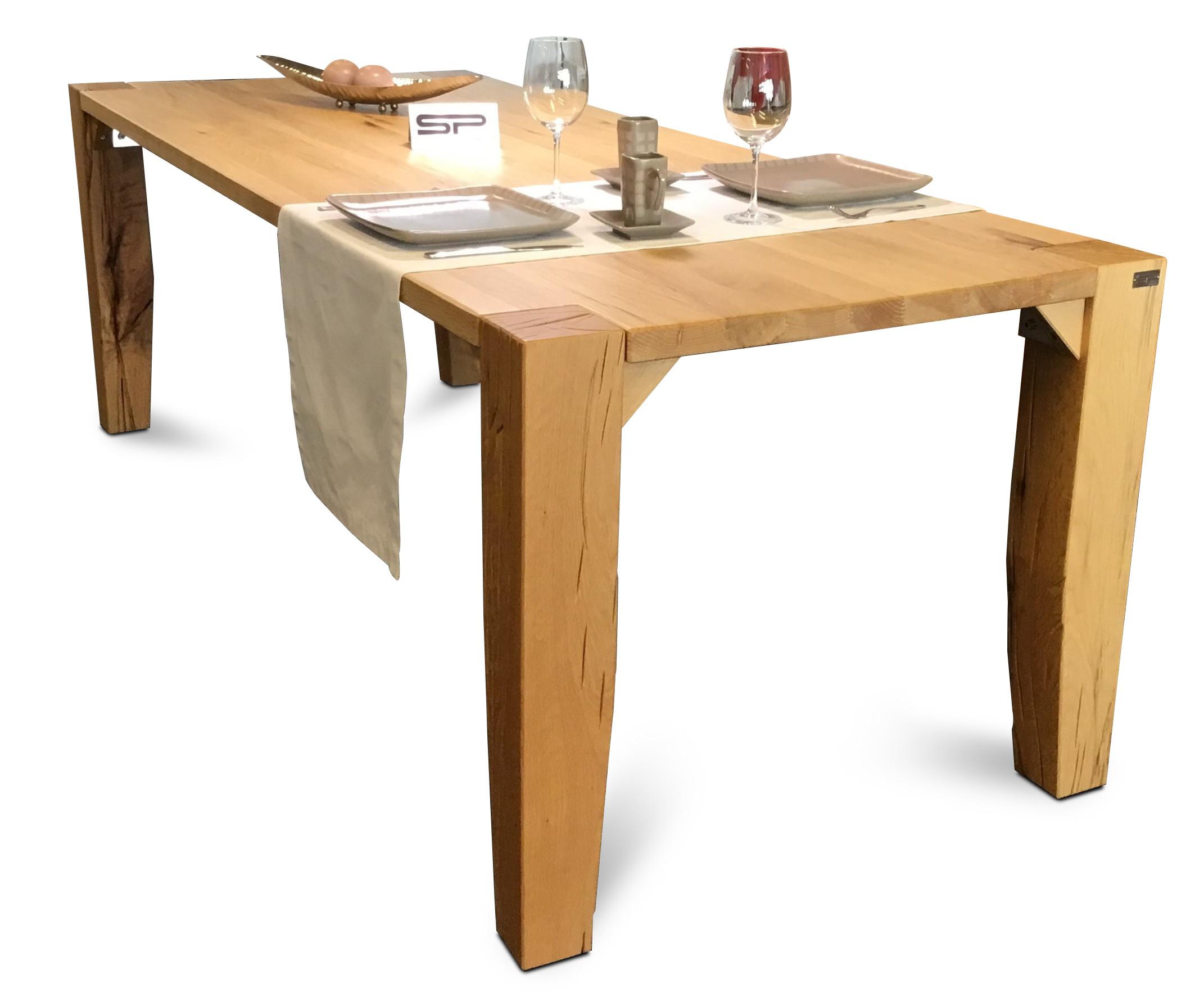 Tisch Largo Sumpfeiche geschroppt 07