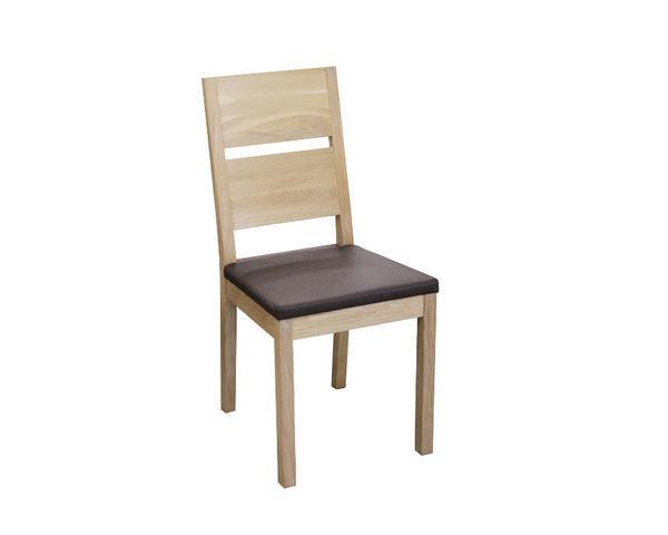 Eckbank SANO und 2 Stühle SILENT in Holz 02