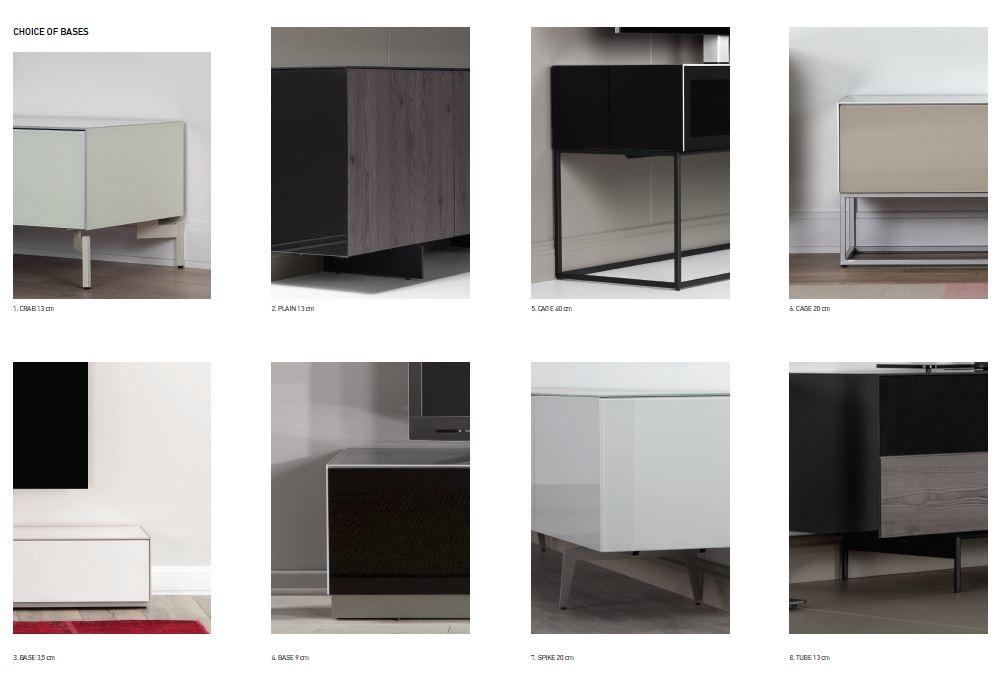 Sideboard Sonorous Elements, Kommode Kombination SB-K1, B=250cm / H=80cm 05