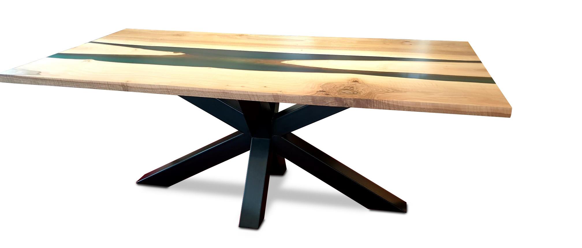 Esstisch Ocean Star Table mit Epoxid 04