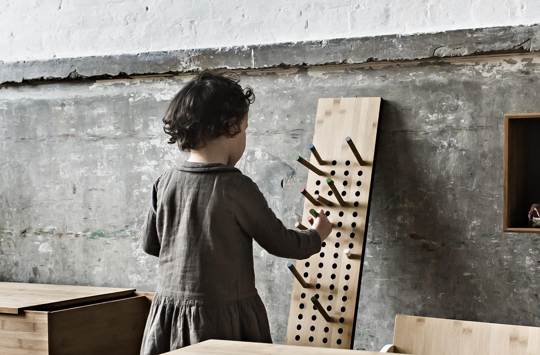 Gardarobe Scoredboard small vertikal-Bambusholz Nachhaltig 06