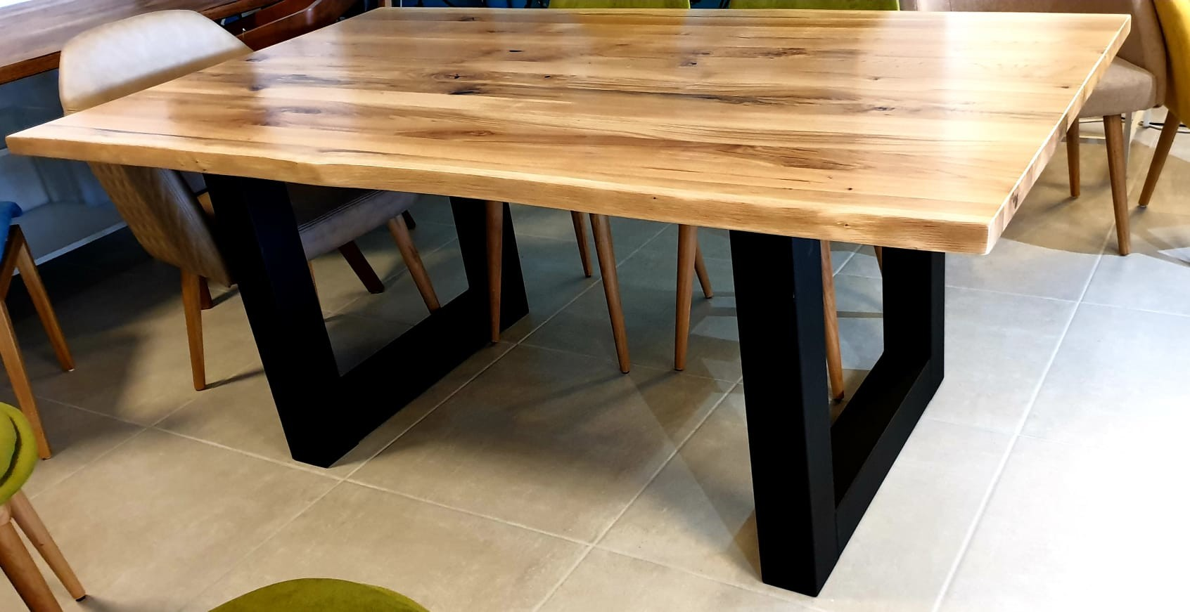 Esstisch Black Oak Table 01