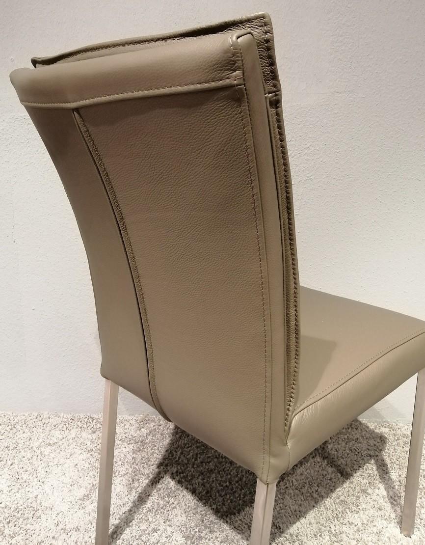 6 Stühle Leon Echtleder Lüönd 05