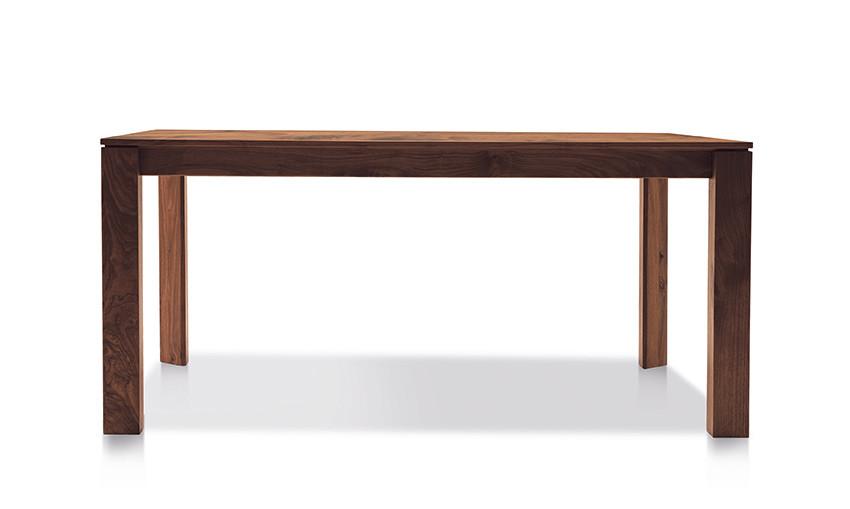 Auszugtisch Valbella Amerik. Nussbaum 160+80 x 95cm Lüönd 05