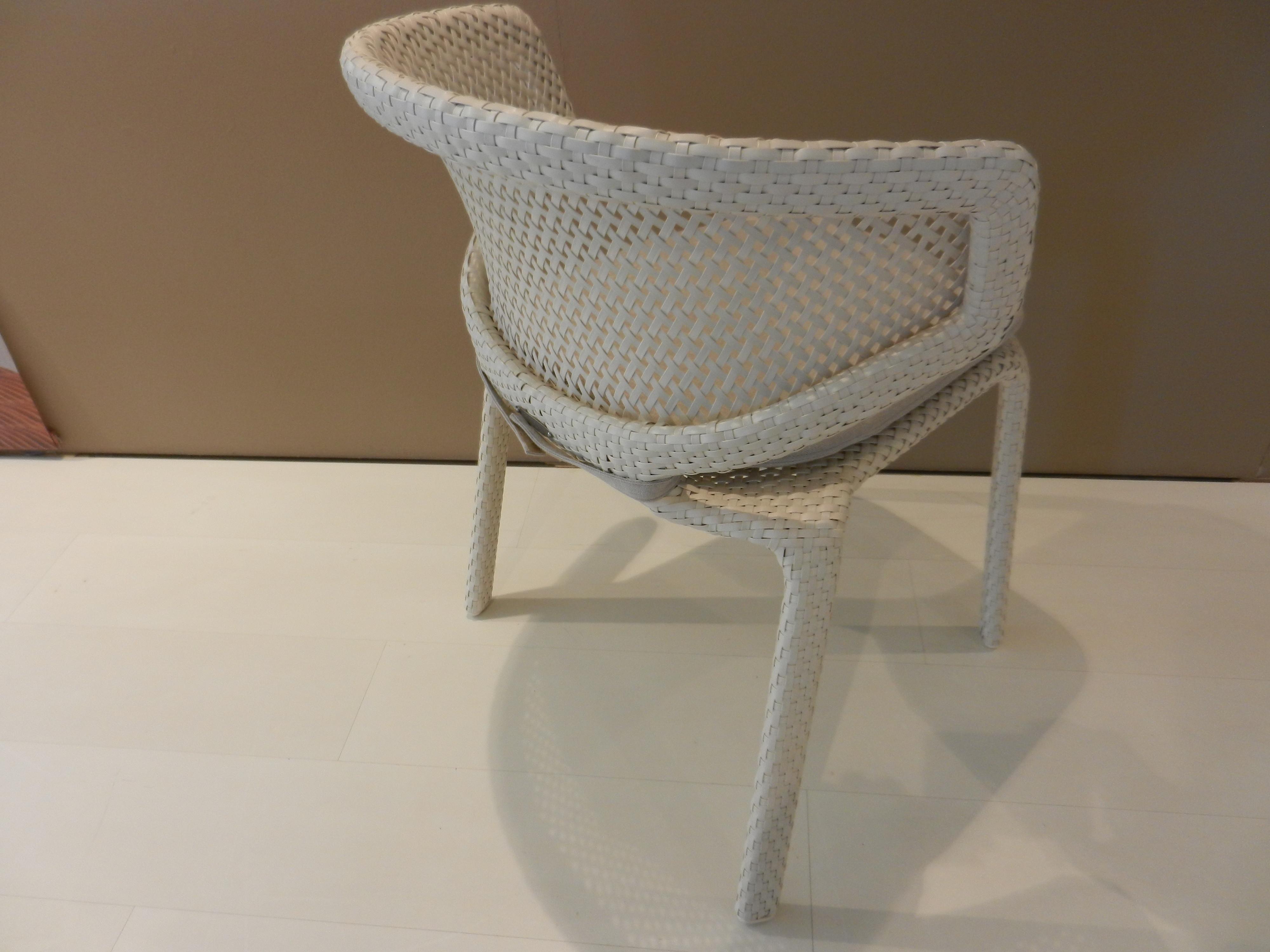 4 Stühle Seashell von Dedon 04