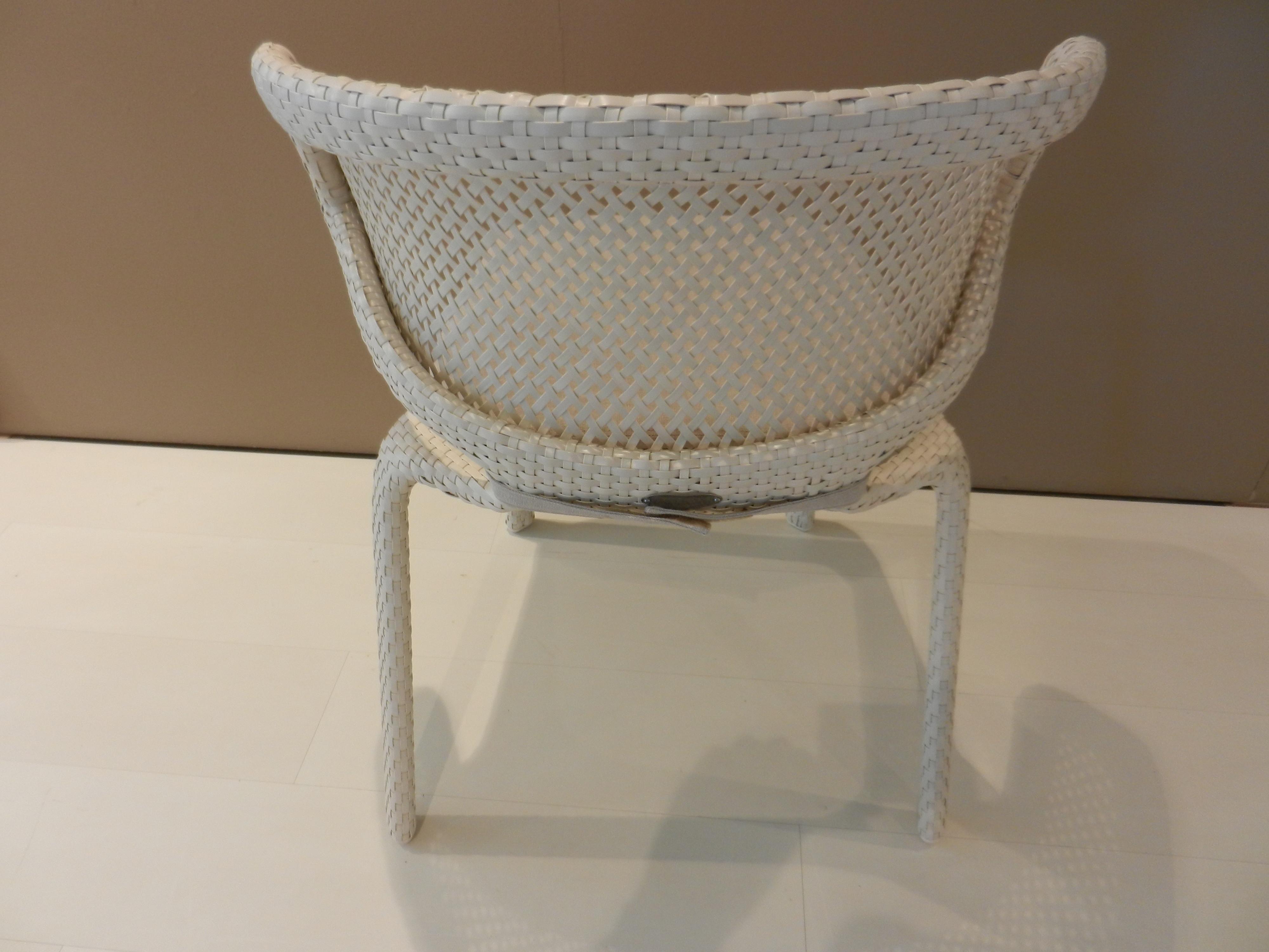 4 Stühle Seashell von Dedon 05