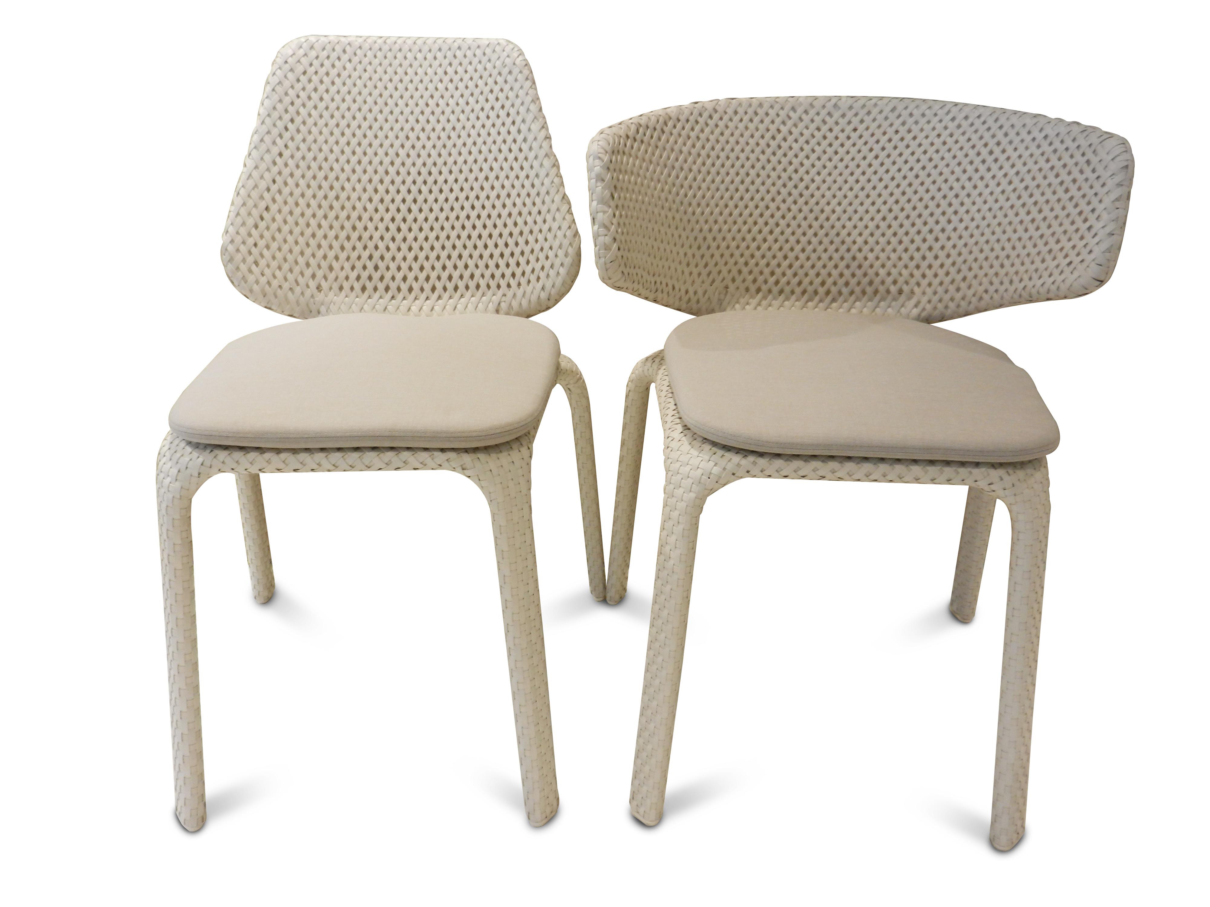 4 Stühle Seashell von Dedon 13