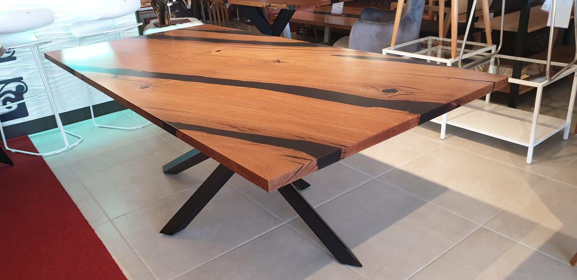Esstisch Abonos Elegant Table mit Epoxid 02