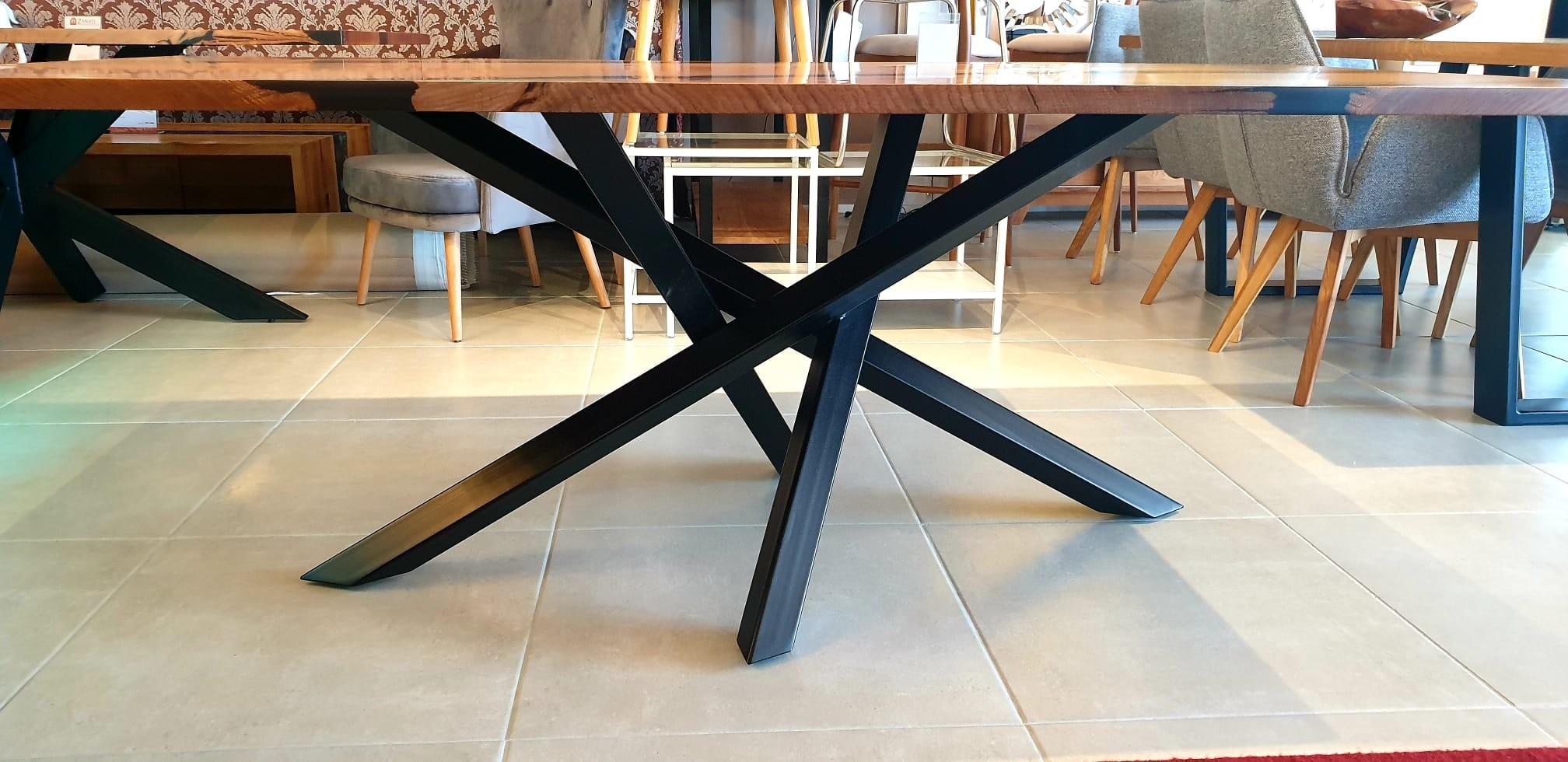 Esstisch Abonos Elegant Table mit Epoxid 06