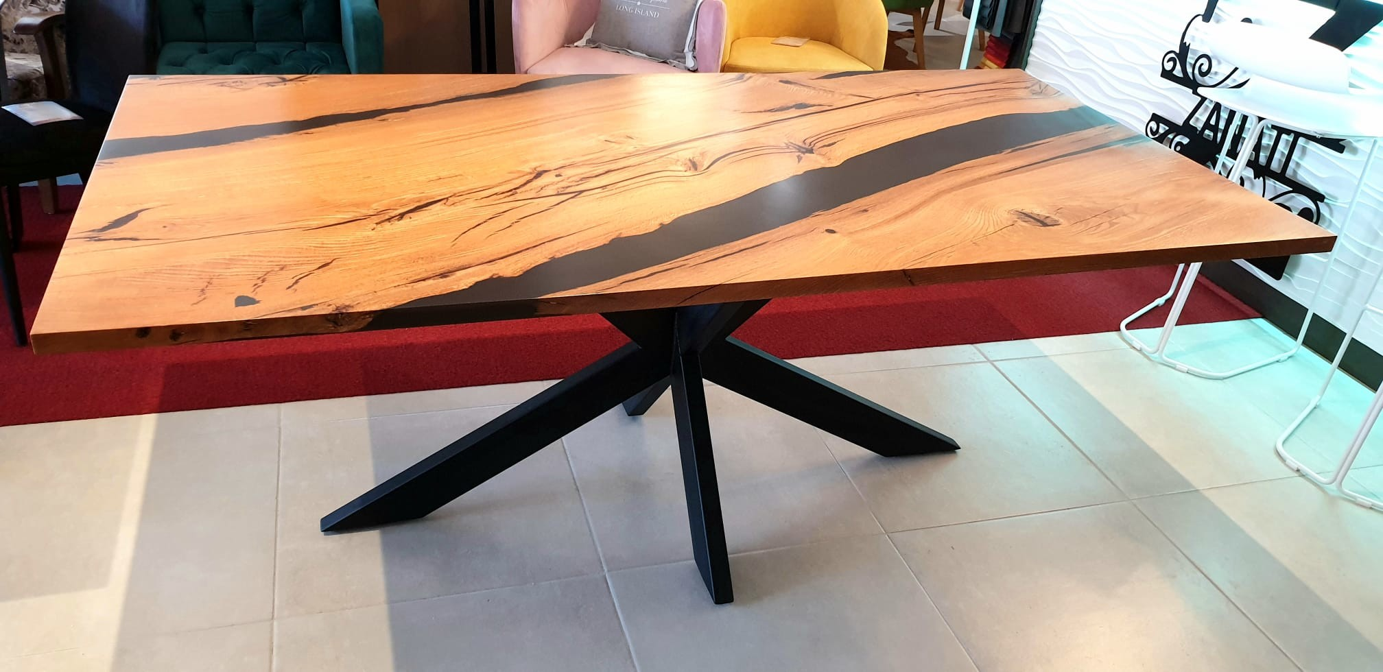 Esstisch Abonos Star Table mit Epoxid 02