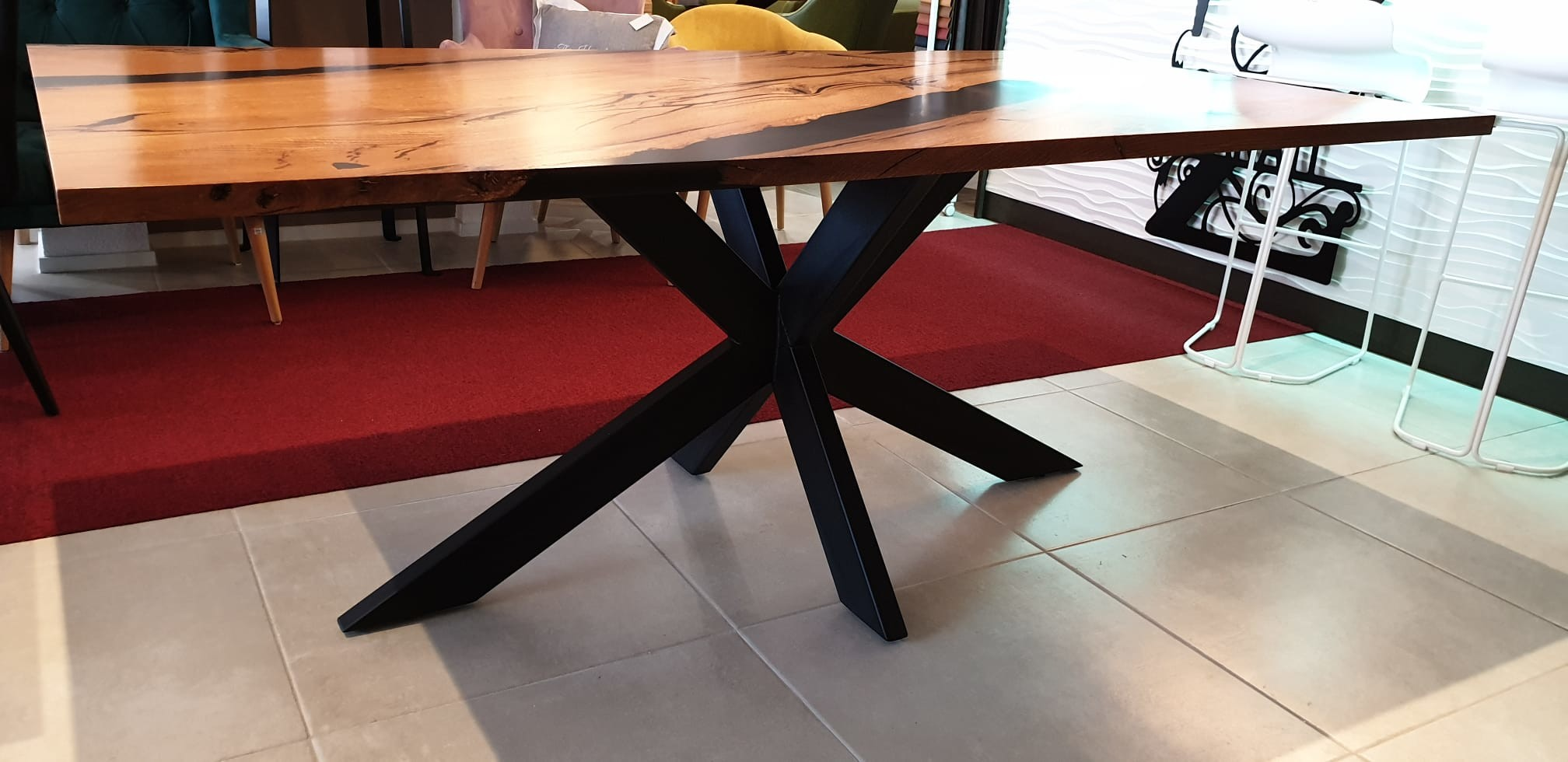 Esstisch Abonos Star Table mit Epoxid 08