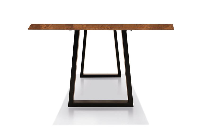 Esstisch mit Ecksitzbank Arogno Ast-Eiche 220 x 100 cm Lüönd 05
