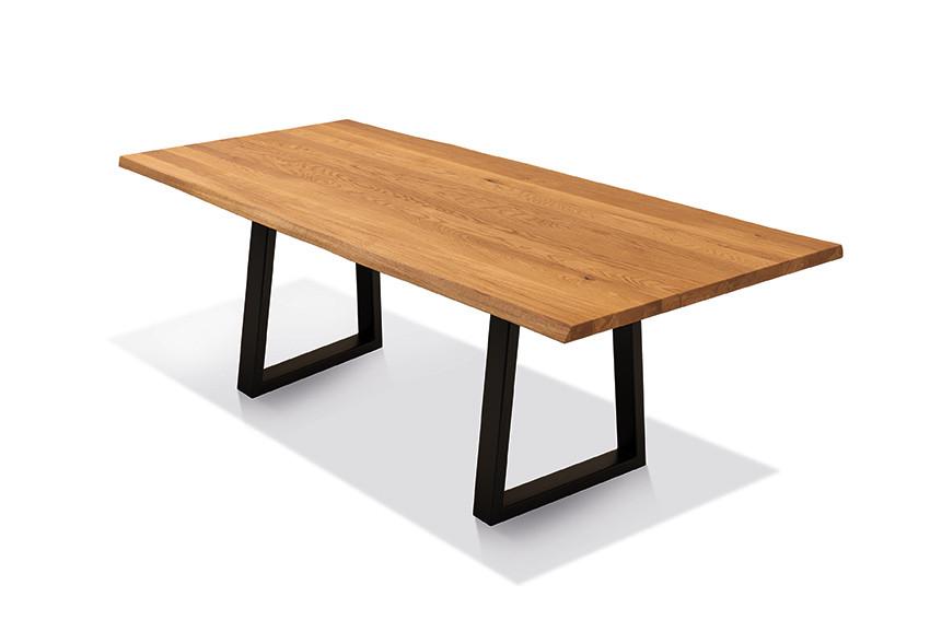 Esstisch mit Ecksitzbank Arogno Ast-Eiche 220 x 100 cm Lüönd 04