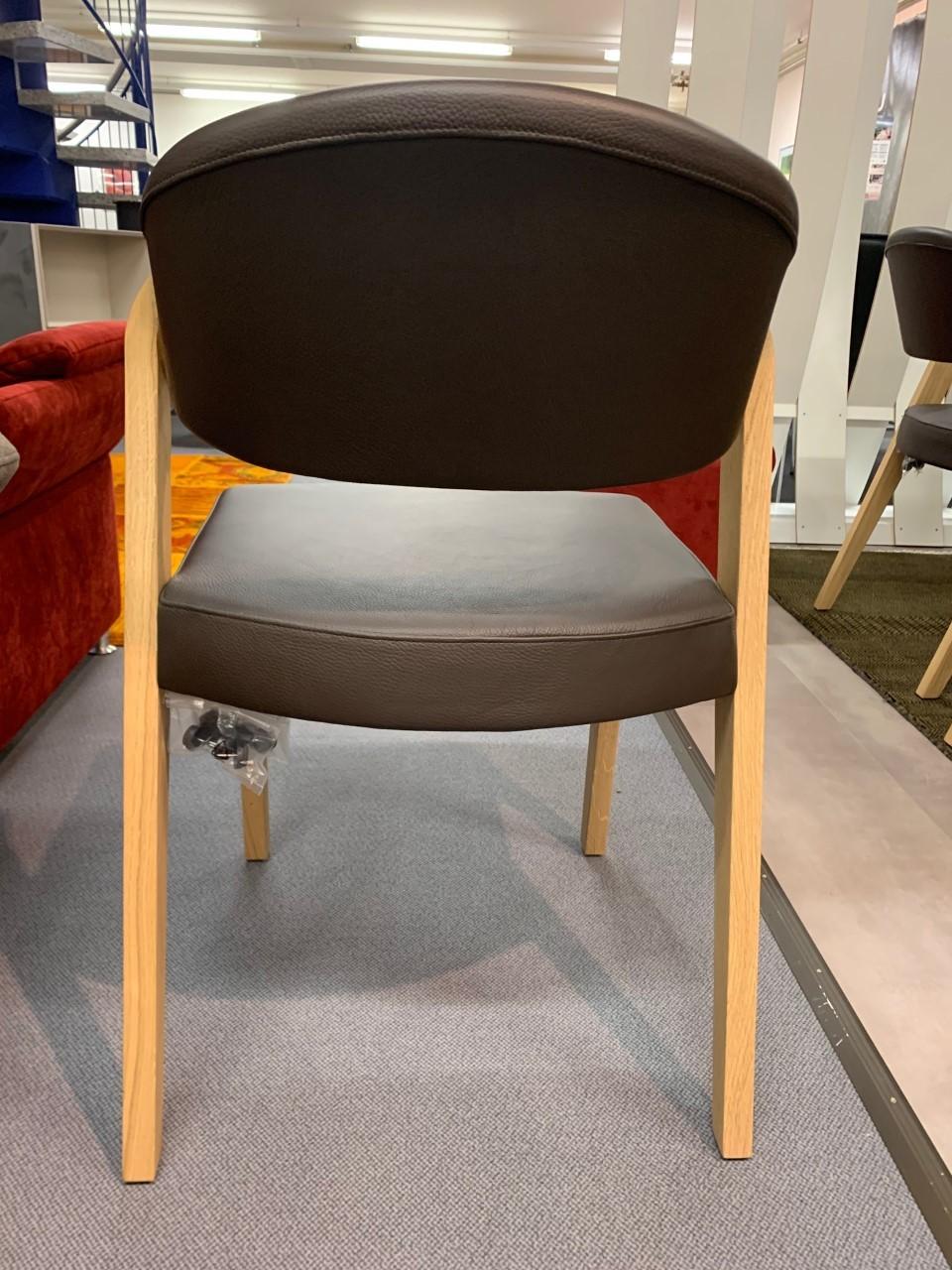 Esstisch massiv von Voglauer mit Auszug komplett mit 6 Stühlen 02