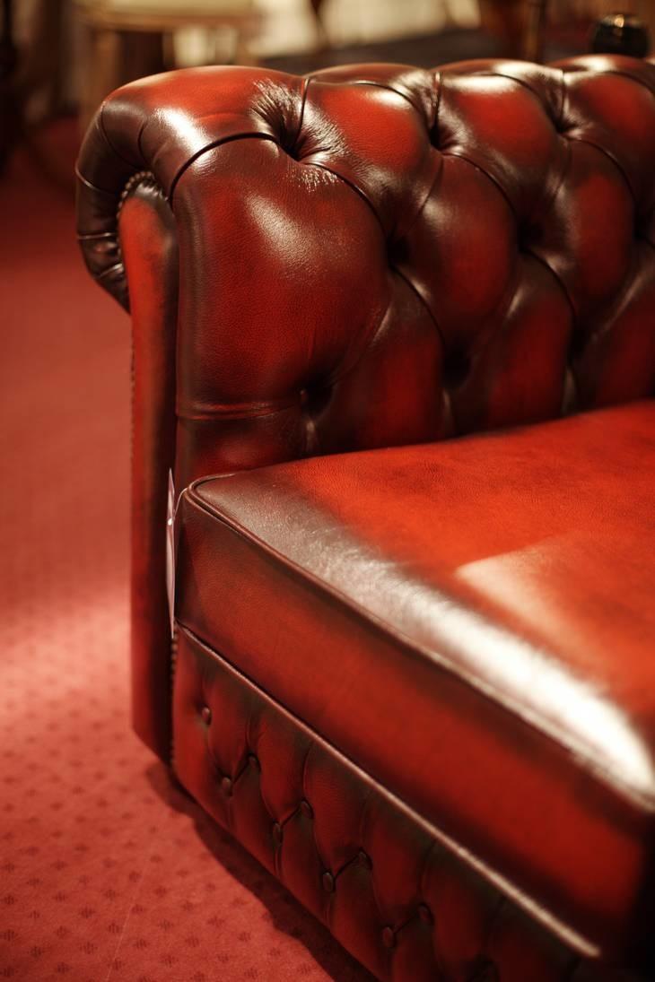 Original Chesterfield 3er Sofa Conventry 08