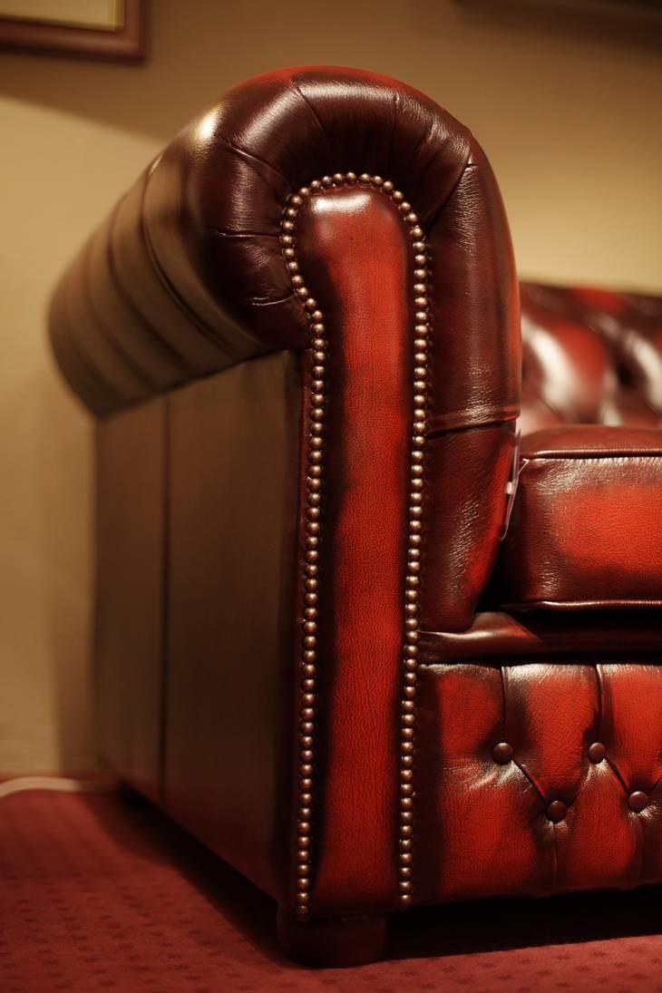 Original Chesterfield 3er Sofa Conventry 09