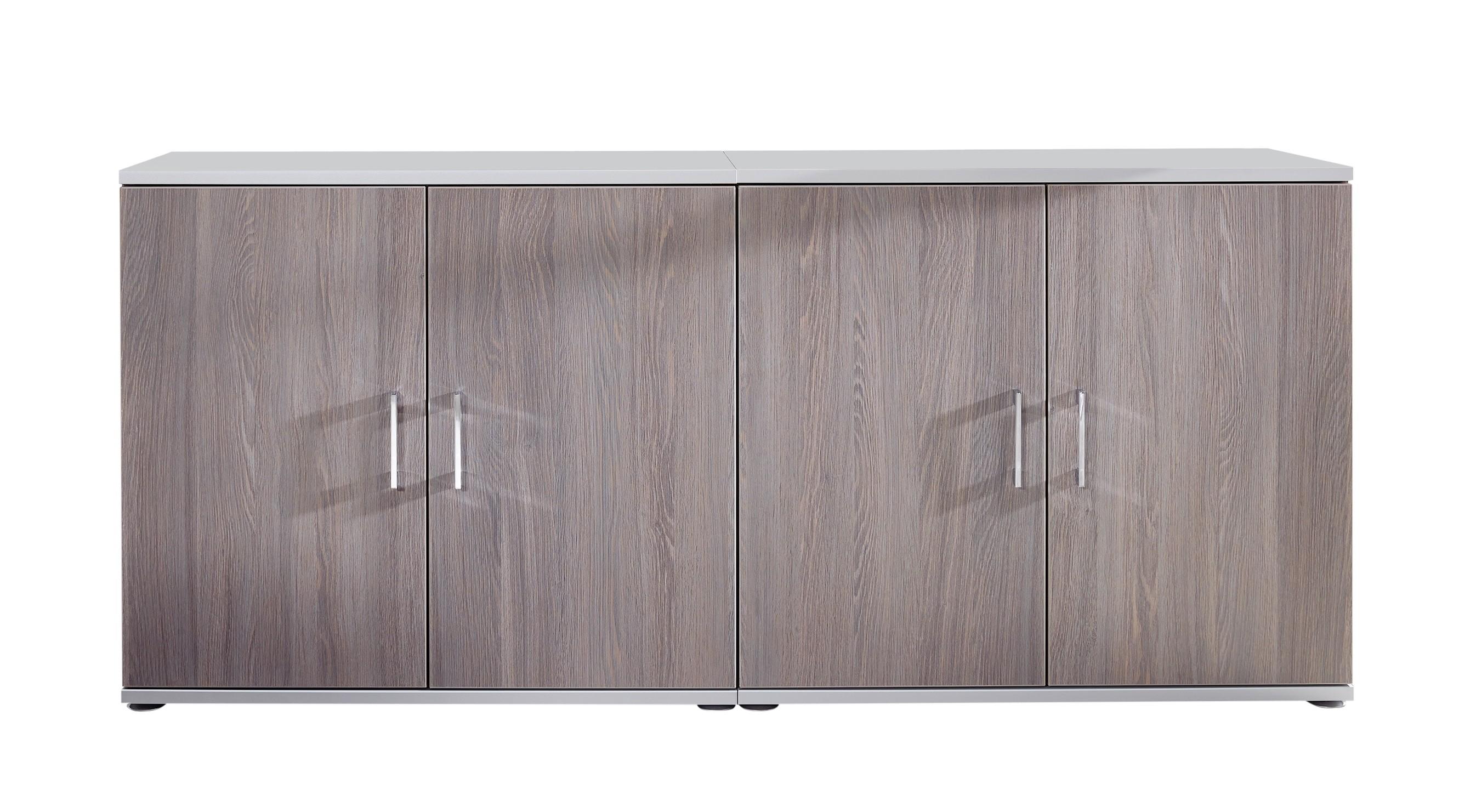 Home-Office Sideboard 4-türig 01