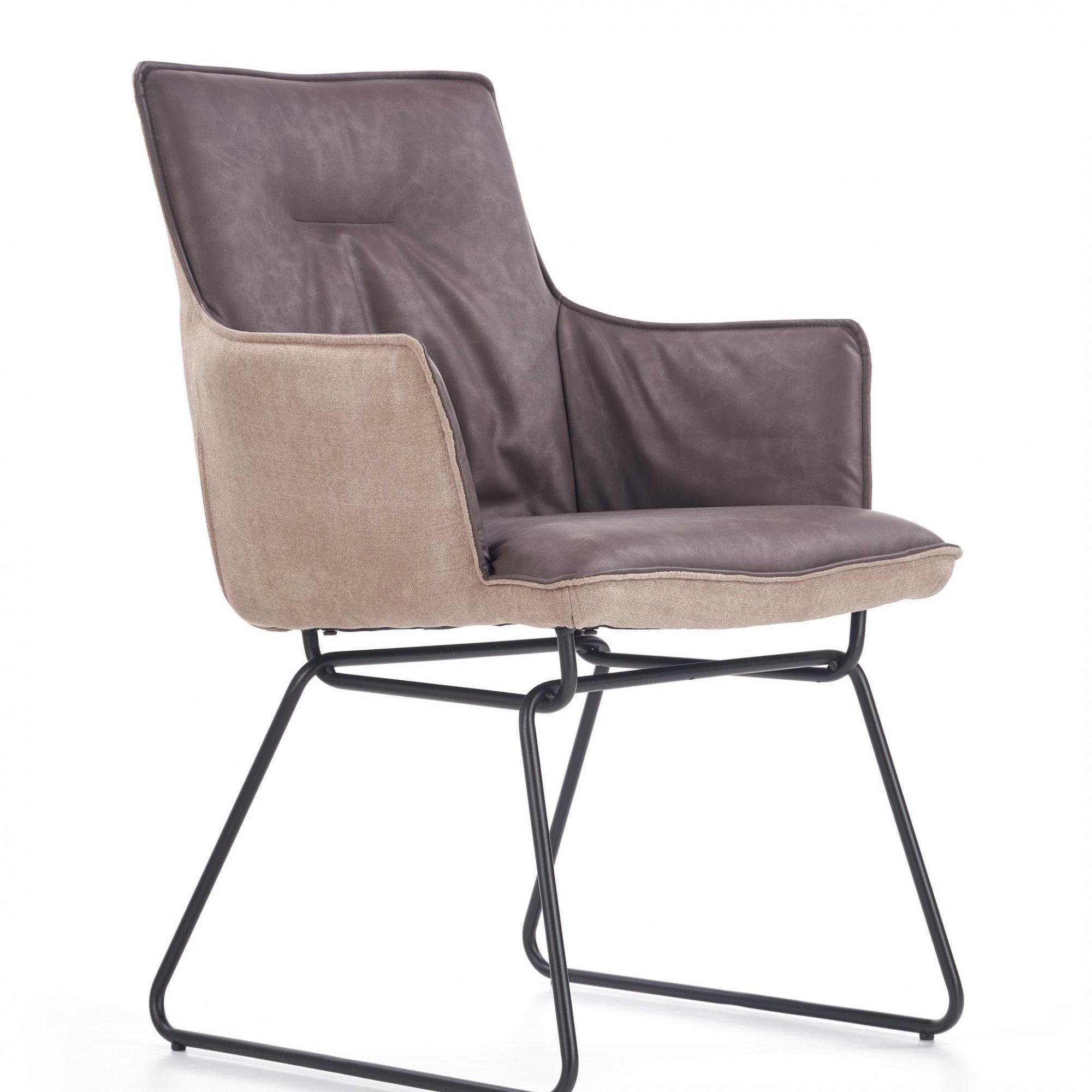 Stuhl SID mit Armlehnen moderner Design 02