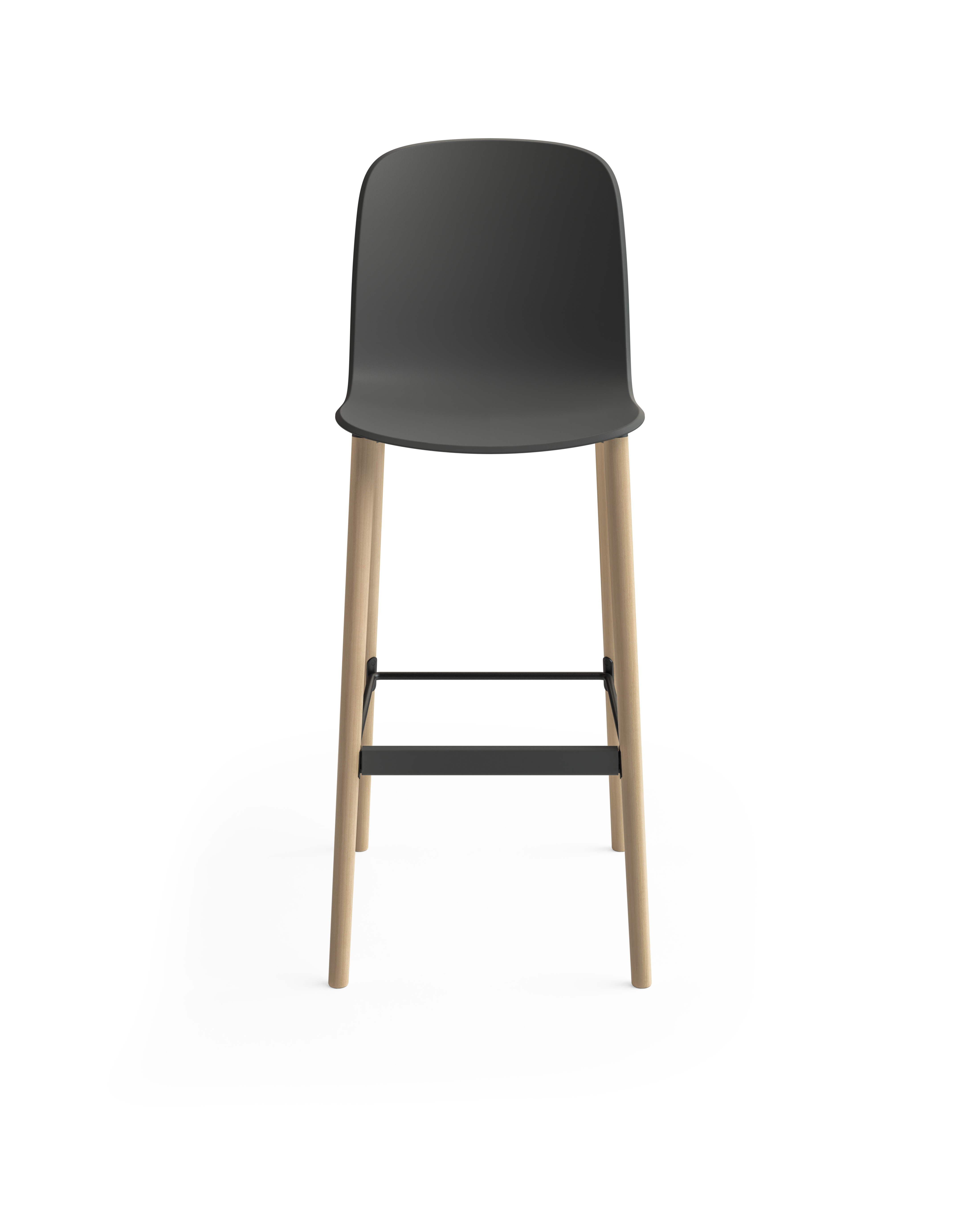 Tabouret de bar Cavatina de Steelcase - 4 pieds 03