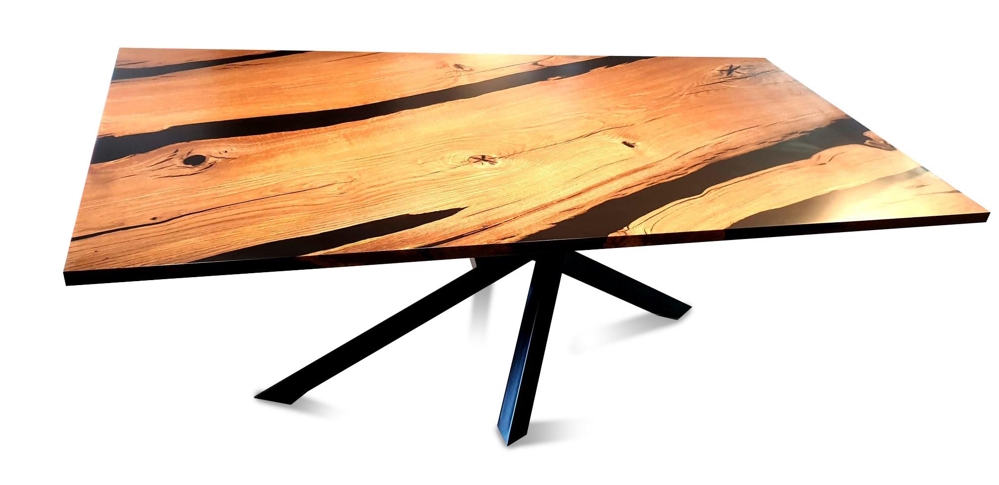 Esstisch Abonos Elegant Table mit Epoxid 09