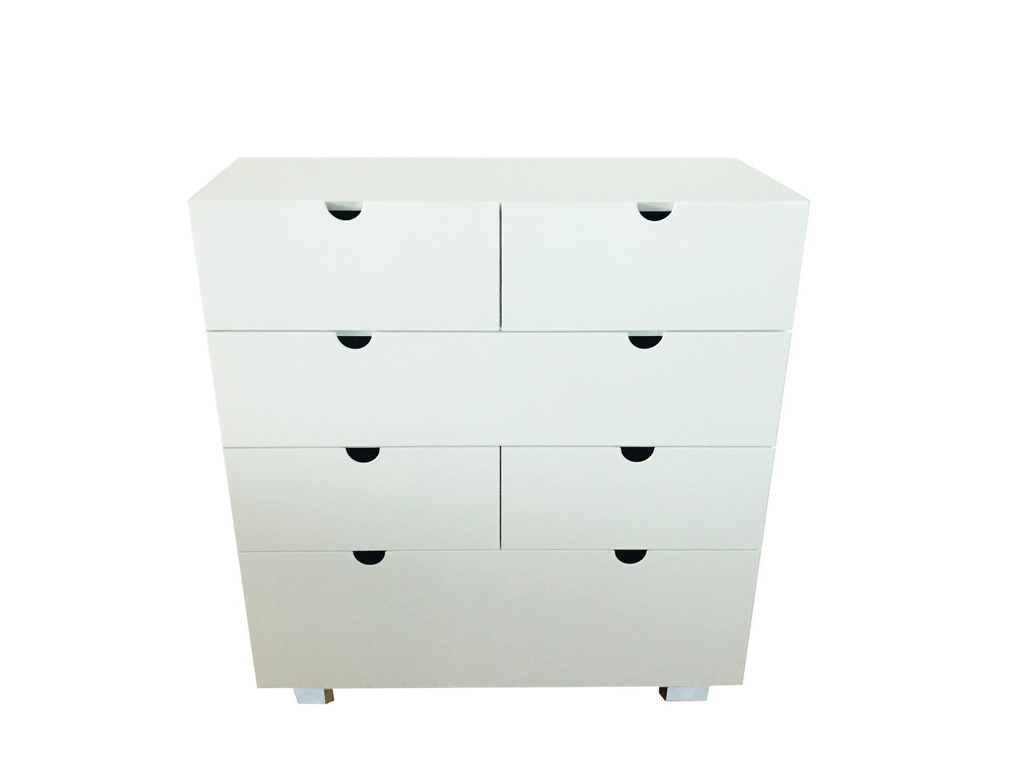 kommode mit 8 schubladen 90 cm breit solovivo. Black Bedroom Furniture Sets. Home Design Ideas