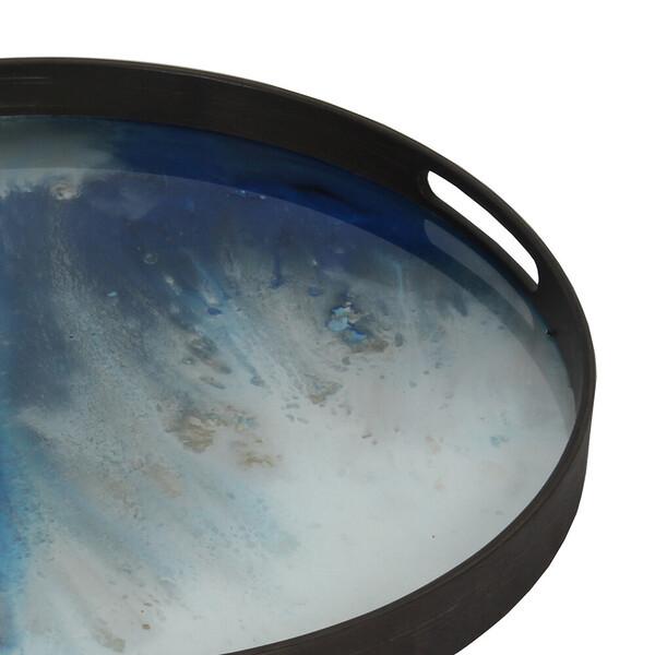 Glastablett blauer Nebel 01