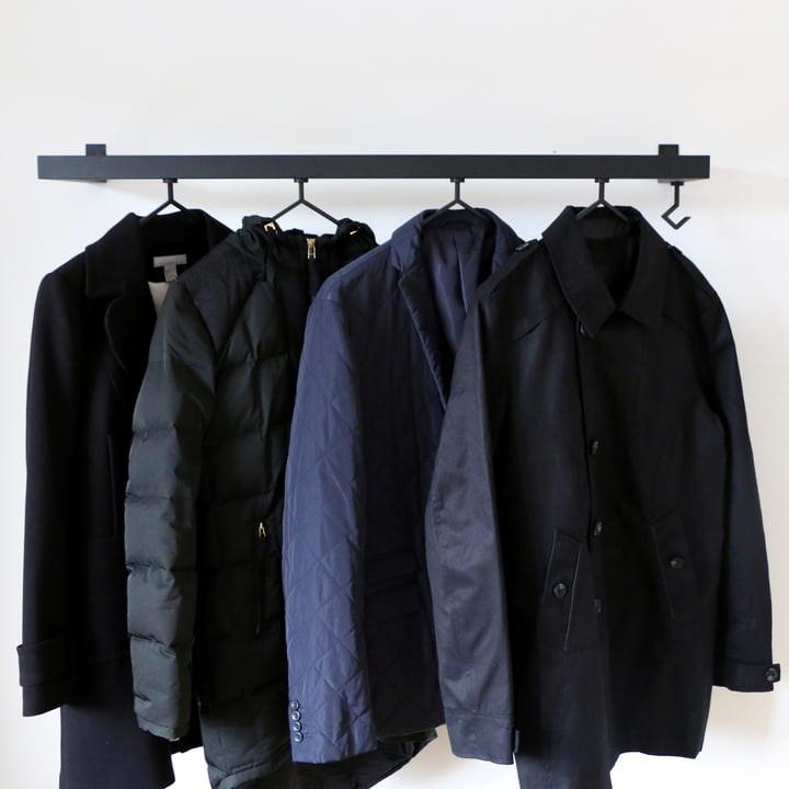Kleiderständer Nichba Design - HangSys Garderobe L100cm x T26cm 04