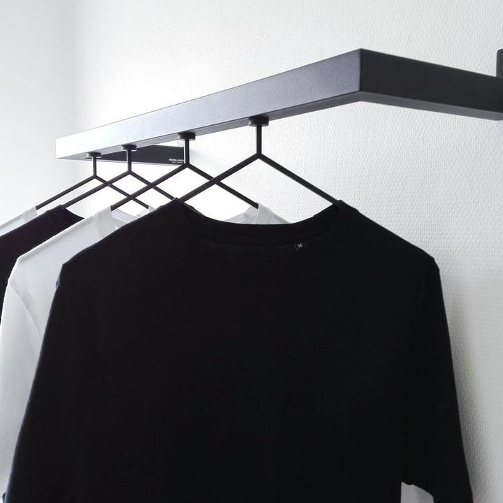 Kleiderständer Nichba Design - HangSys Garderobe L100cm x T26cm 05