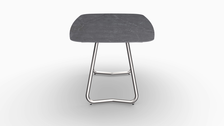 Gartentisch JURA (Tischgestell Edelstahl) 03