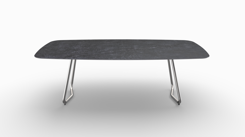 Gartentisch JURA (Tischgestell Edelstahl) 07
